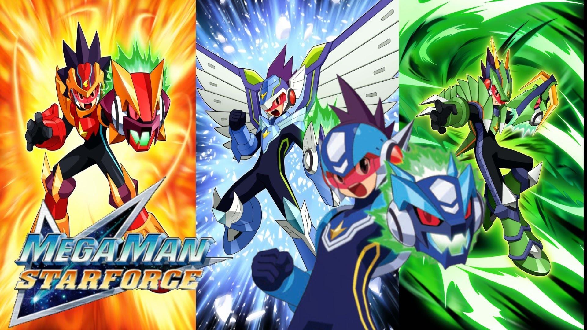 Mega Man Star Force – Part 1