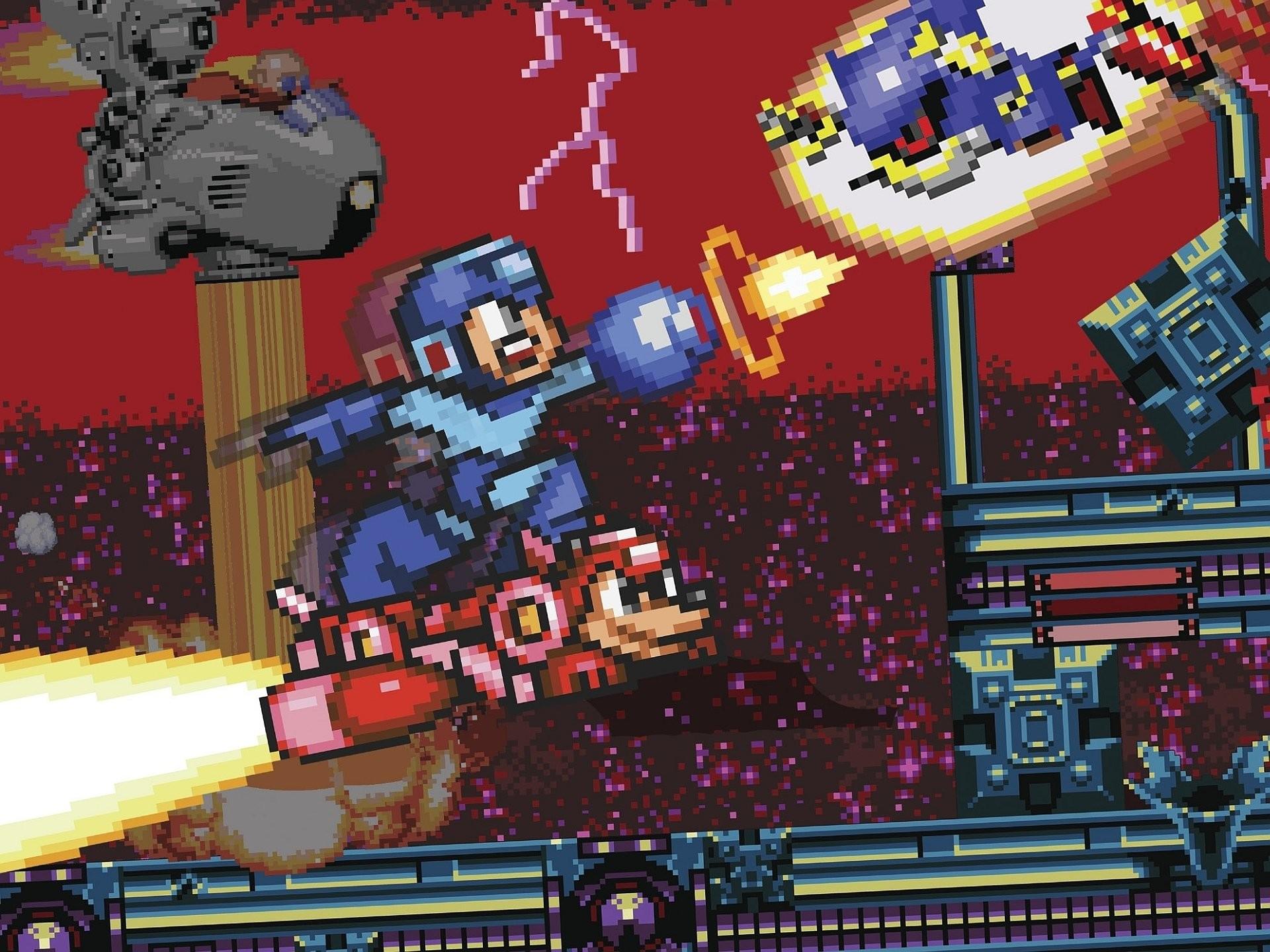 HD Wallpaper | Background ID:406628. Comics Mega Man