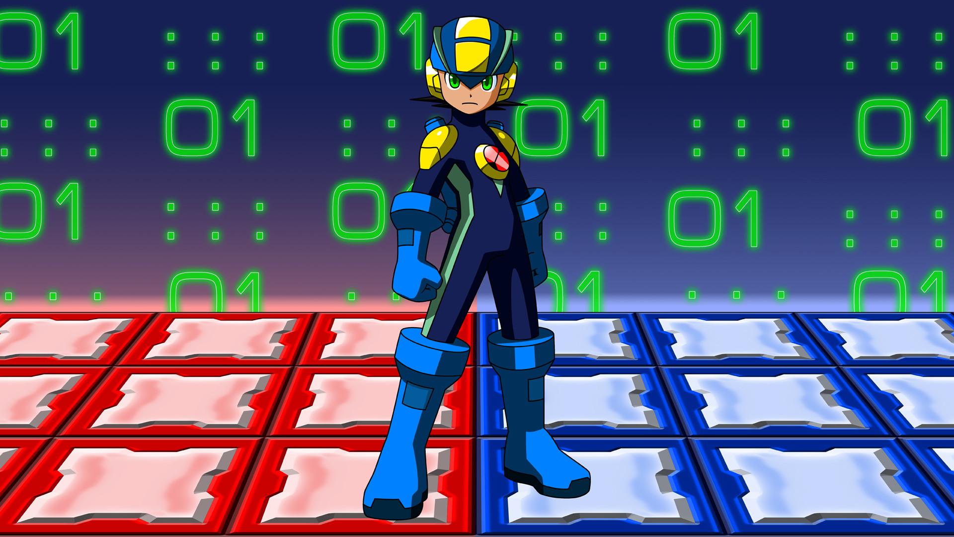 3 Mega Man Battle Network HD Wallpapers | Backgrounds – Wallpaper Abyss