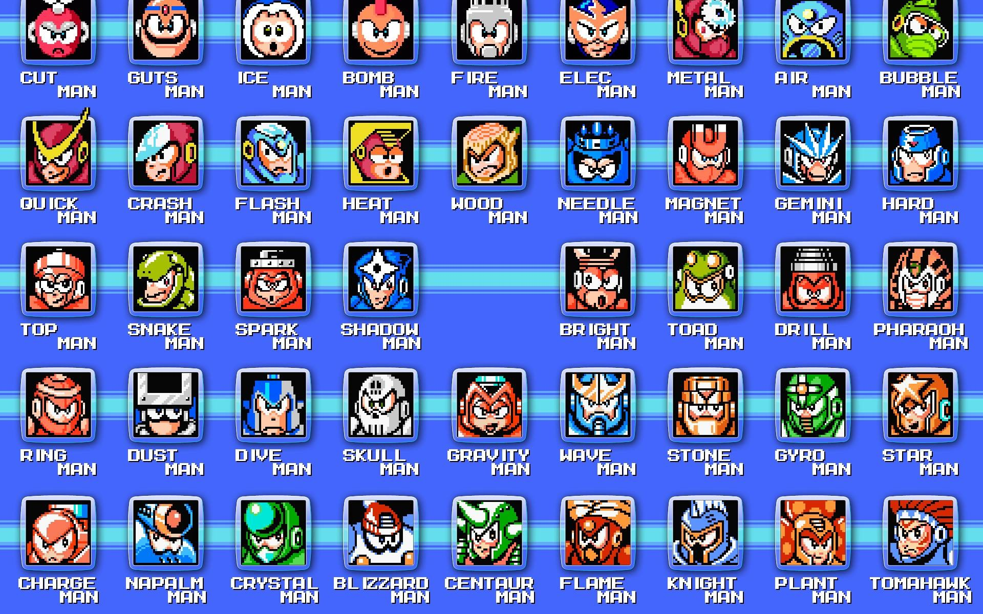 Classic Megaman Wallpaper – Viewing Gallery