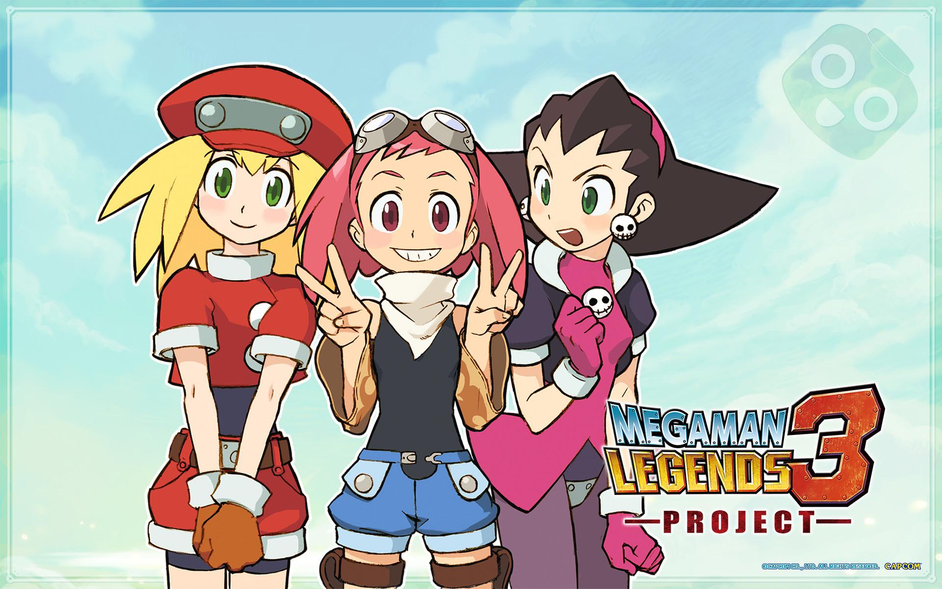 Image – Mega Man Legends 3 wallpaper – Tron Bonne Roll Sephira (Aero).jpg |  Capcom Database | FANDOM powered by Wikia