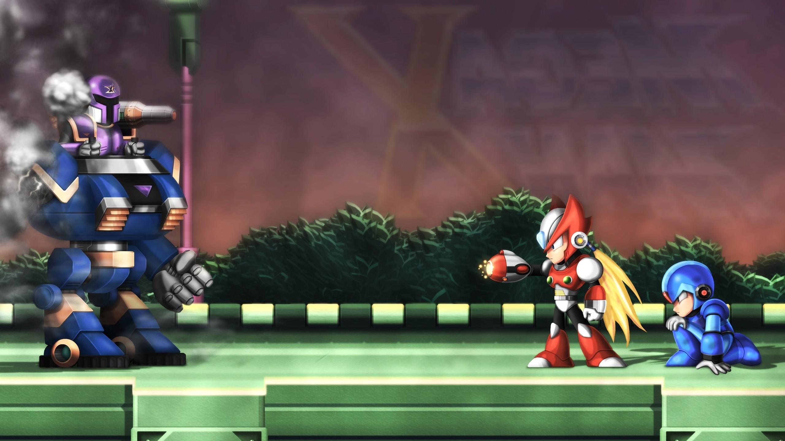 Mega Man X, Retro Games, Mega Man Wallpapers HD / Desktop and Mobile  Backgrounds