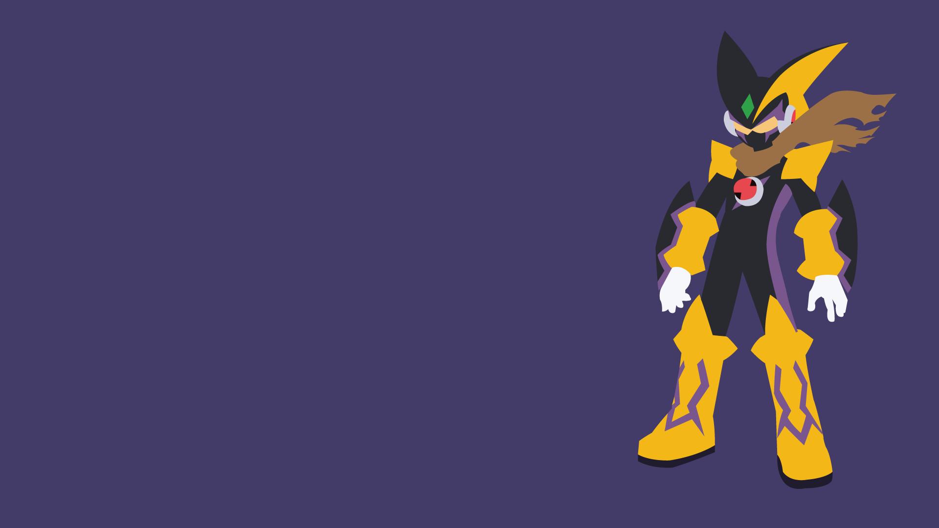 … Mega Man Battle Network – Bass Soul Wallpaper by LimeCatMastr