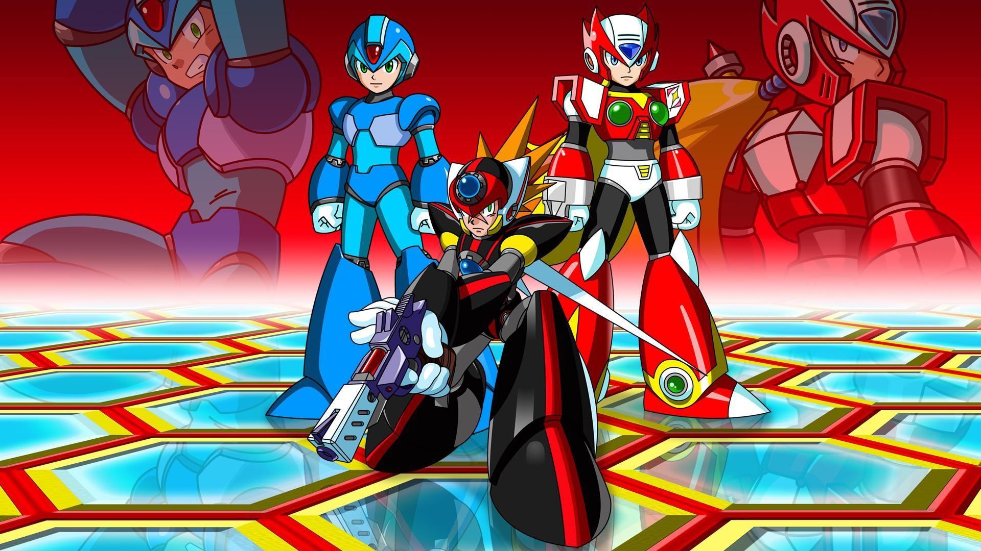 Mega Man X8 Wallpaper