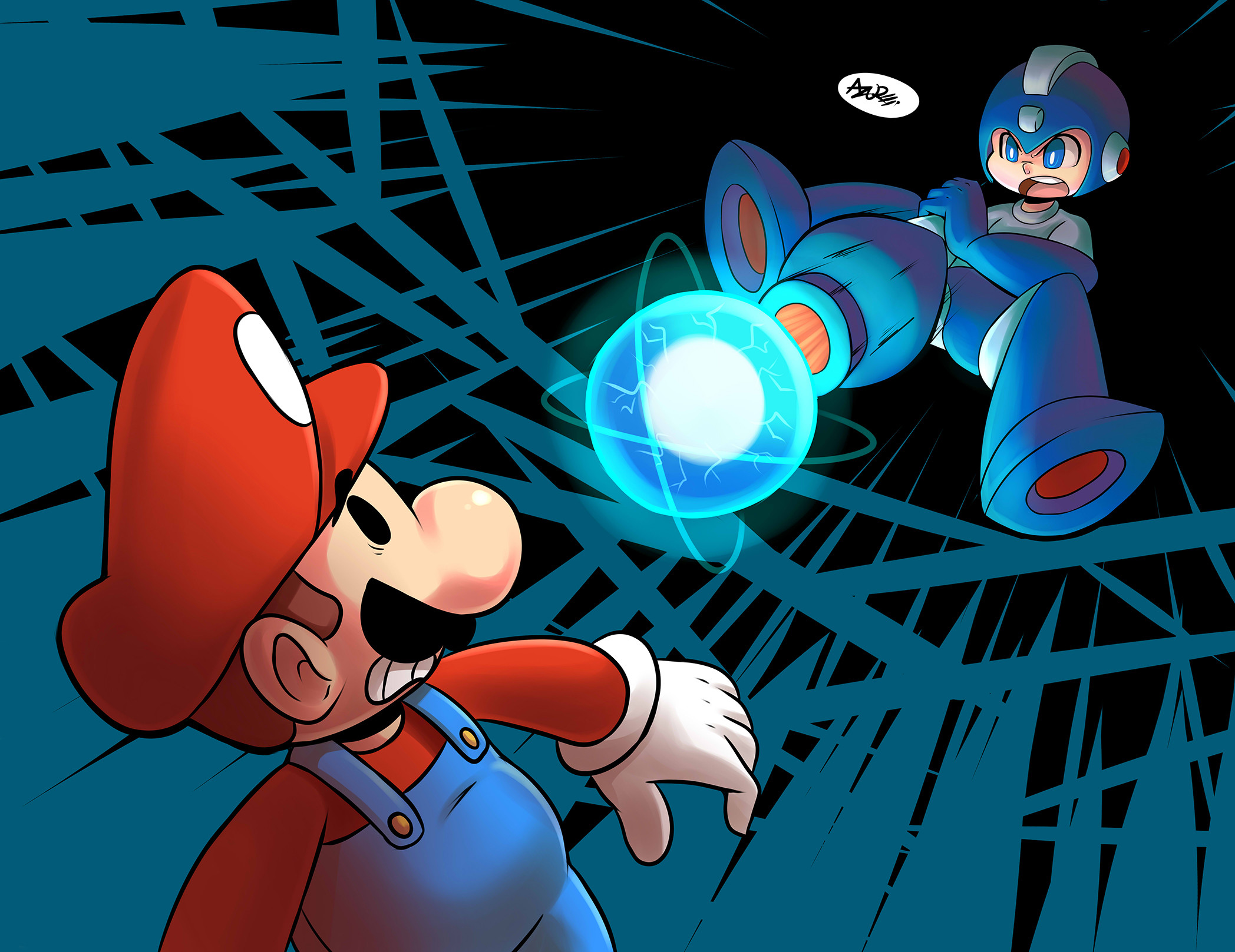 Mega Man Wallpapers. by DylzaLSep 7 2015. Load 153 more images Grid view