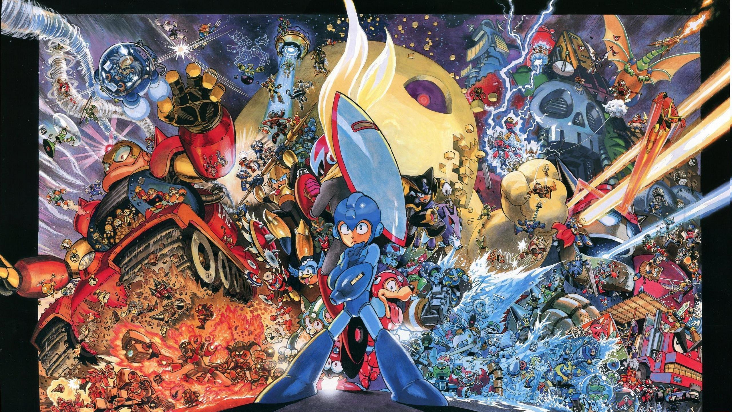 Rockman, Mega Man, Yusuke Murata – Wallpaper – ImgPrix