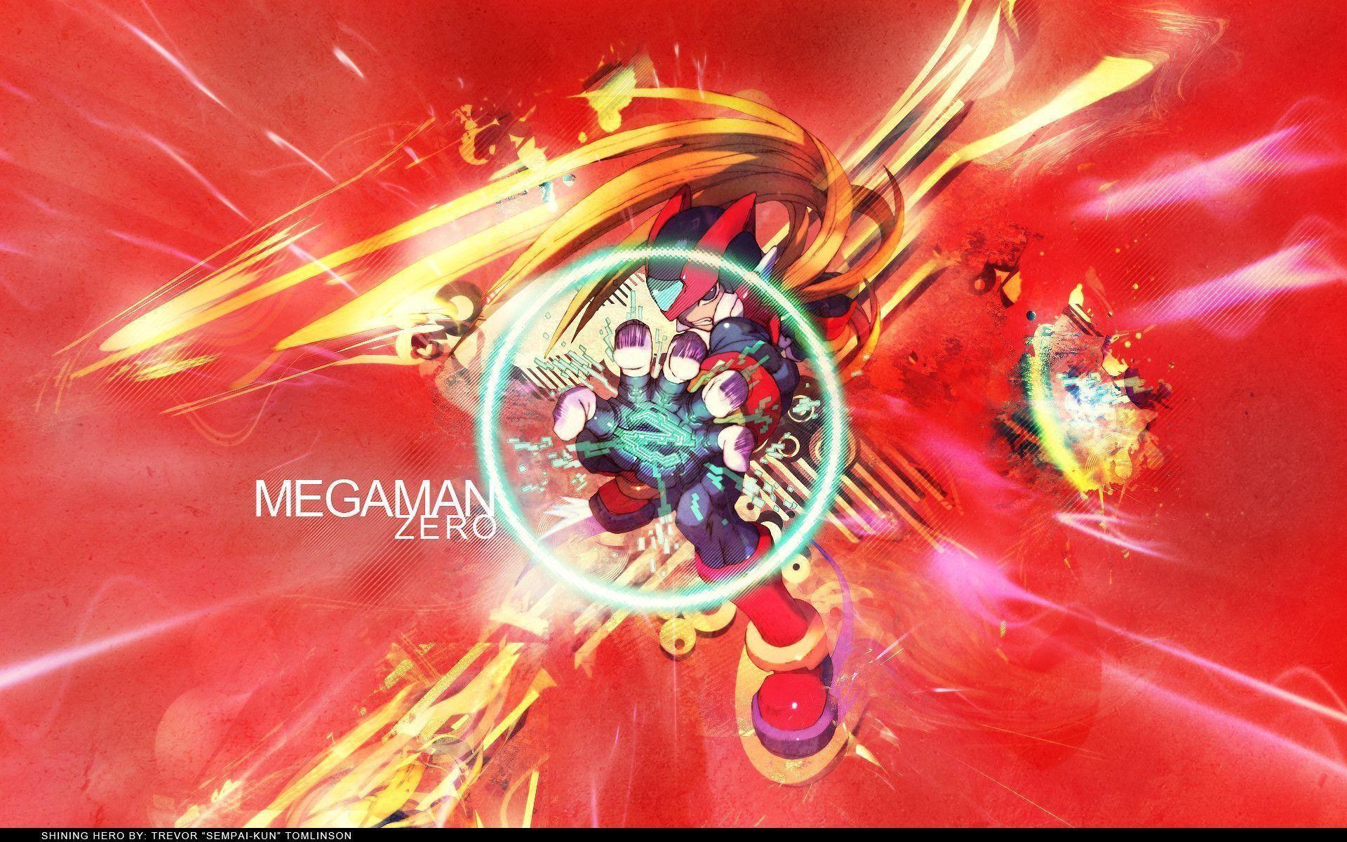 Megaman Zero Desktop Wallpaper – Viewing Gallery