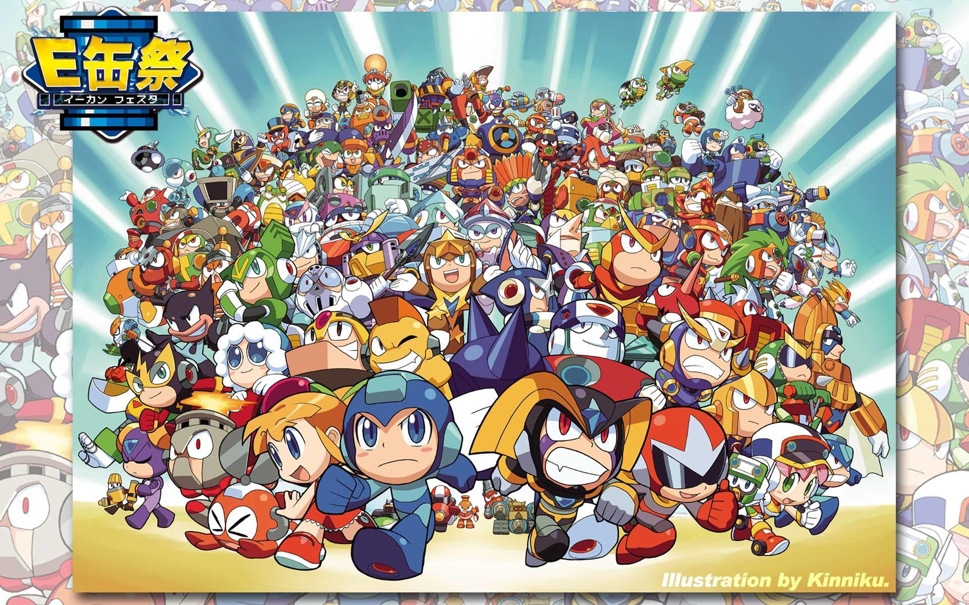 … Robot Master from Mega Man 1-9, …