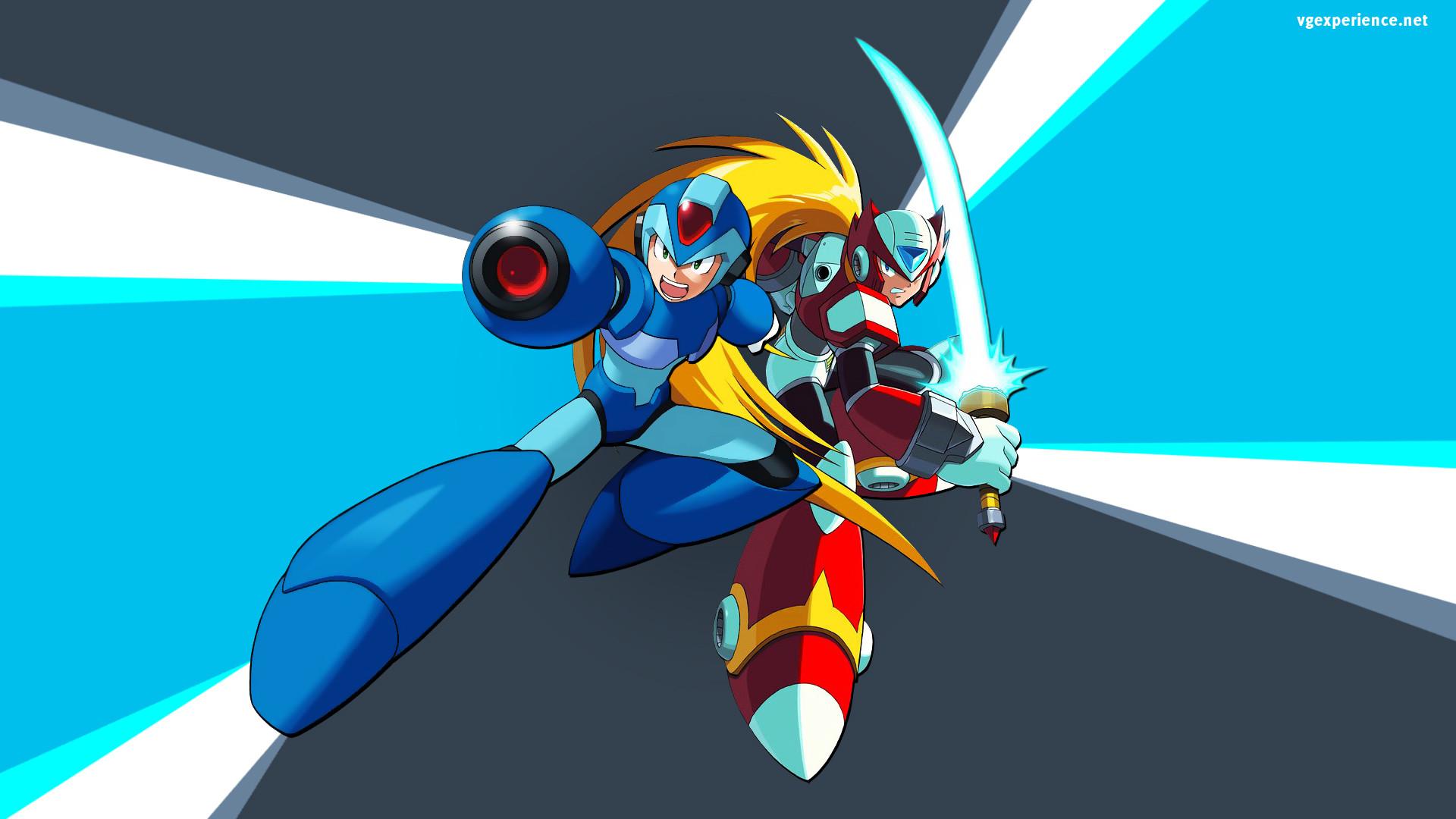 Megaman y Zero wallpaper – ForWallpaper.com