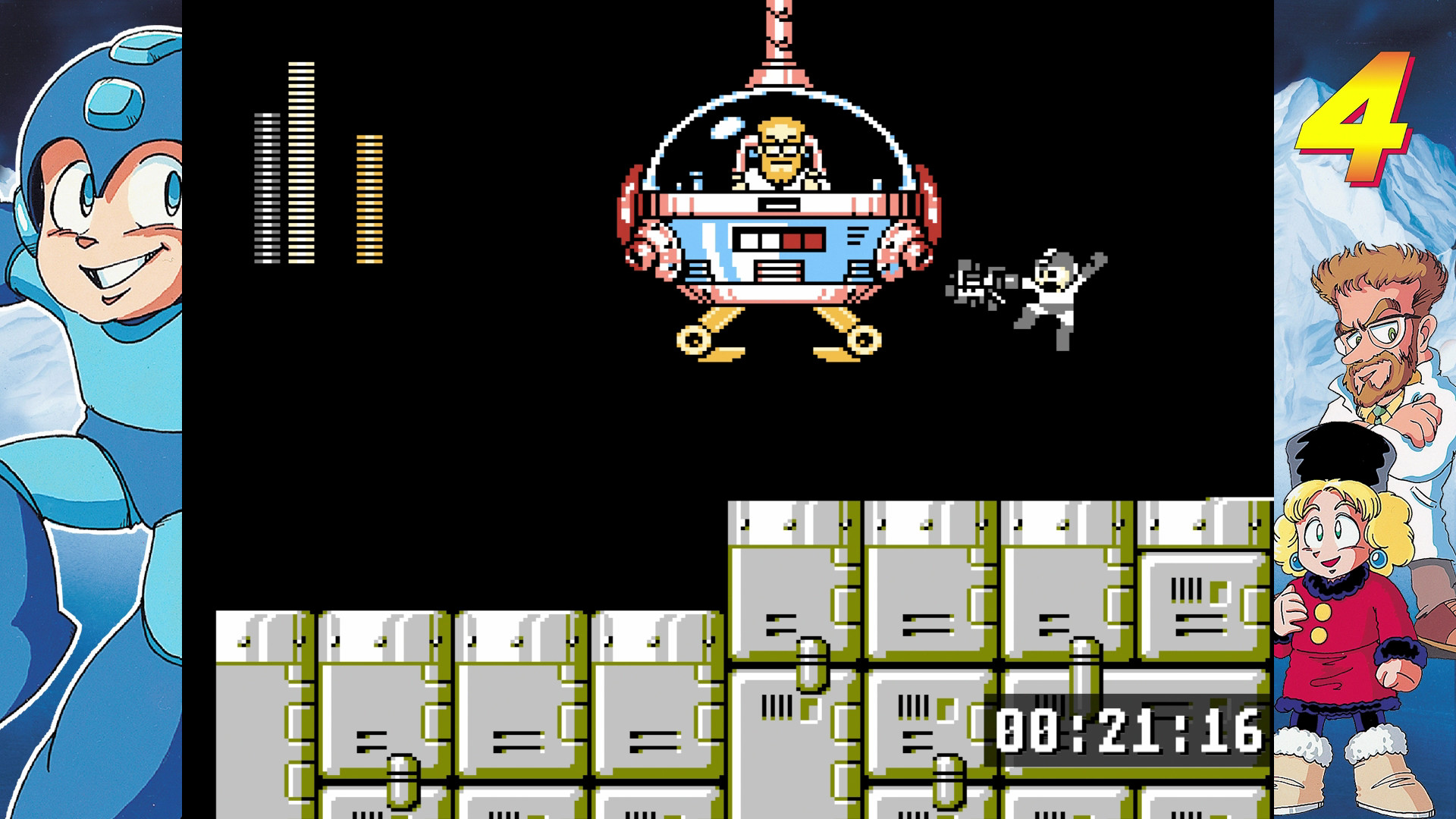 Review: Mega Man Legacy Collection on 3DS celebrates the blue bomber in  style | GameCrate