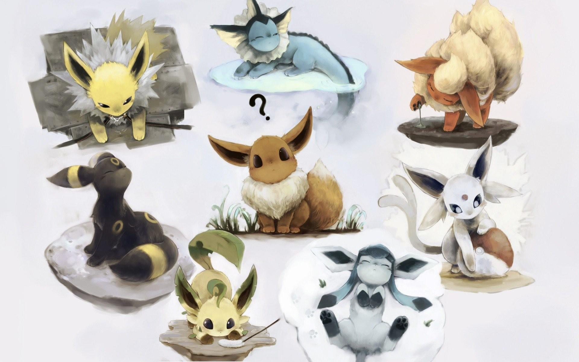 Pokemon Flareon Eevee Espeon Umbreon Vaporeon Jolteon Leafeon Glaceon  wallpaper | | 284049 | WallpaperUP