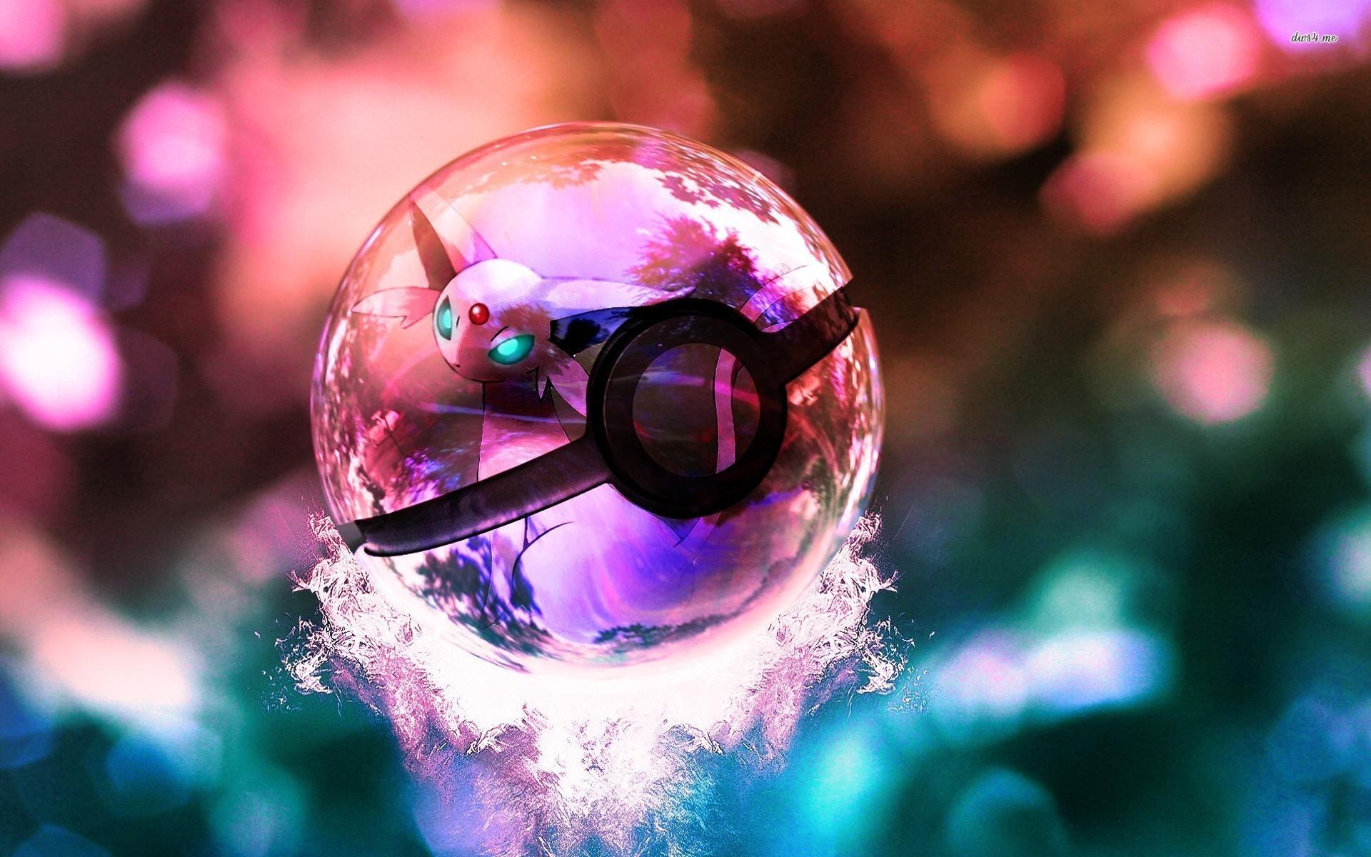 Pokeball Pokemon Anime Wallpaper HD