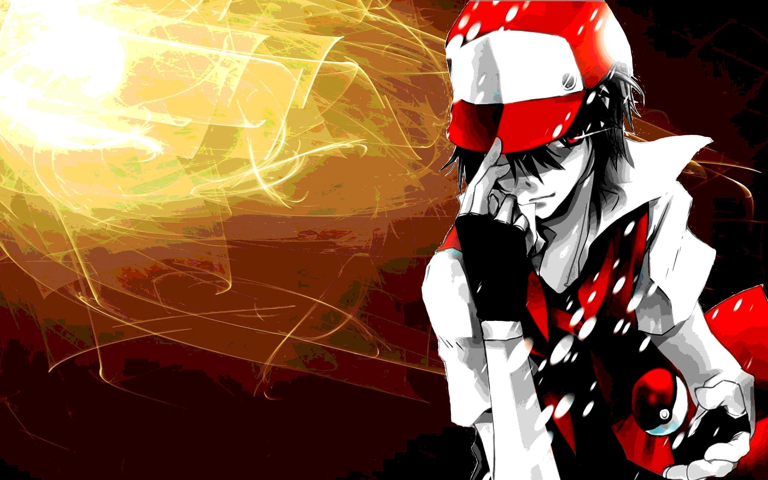 Pokemon HD art: Red Pokemon Trainer by Animeker on DeviantArt