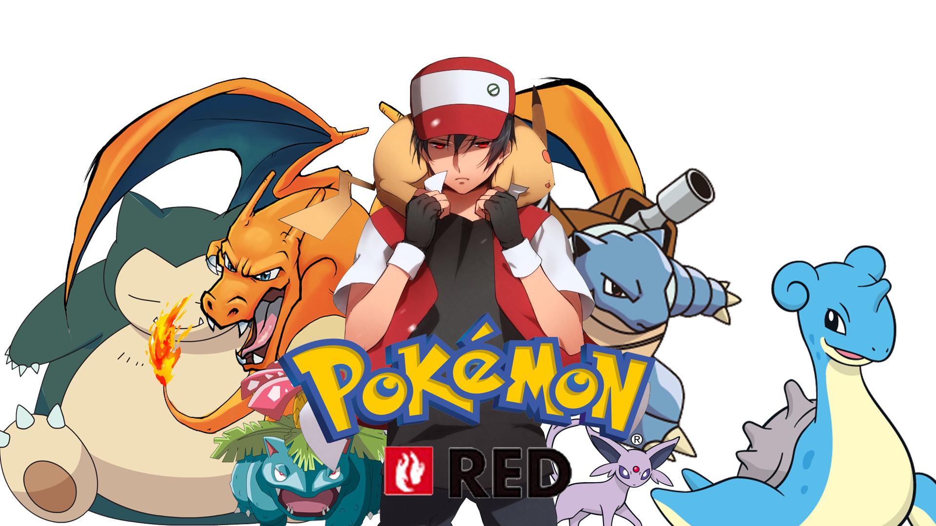 Pokemon Red Wallpaper by Roxxas21 on DeviantArt