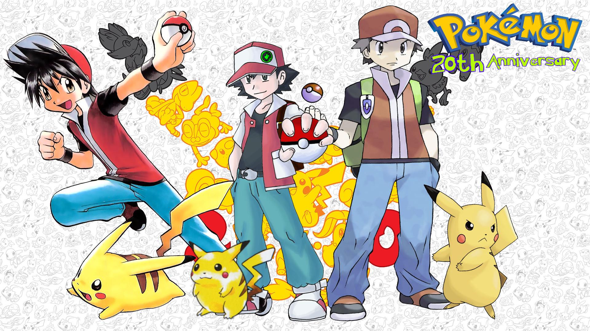 … Pokemon 20th Anniversary PKMN Trainer Red by MattPlaysVG