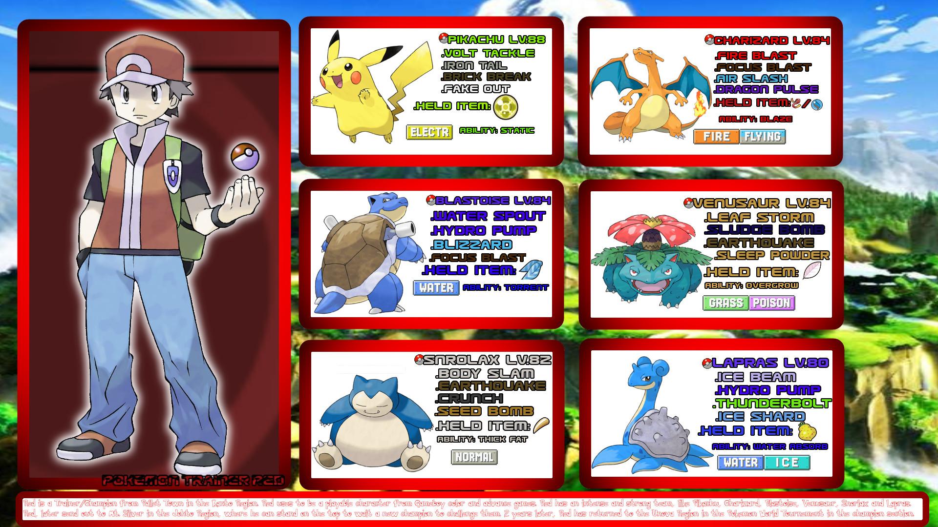 59 Pokemon Trainer Red