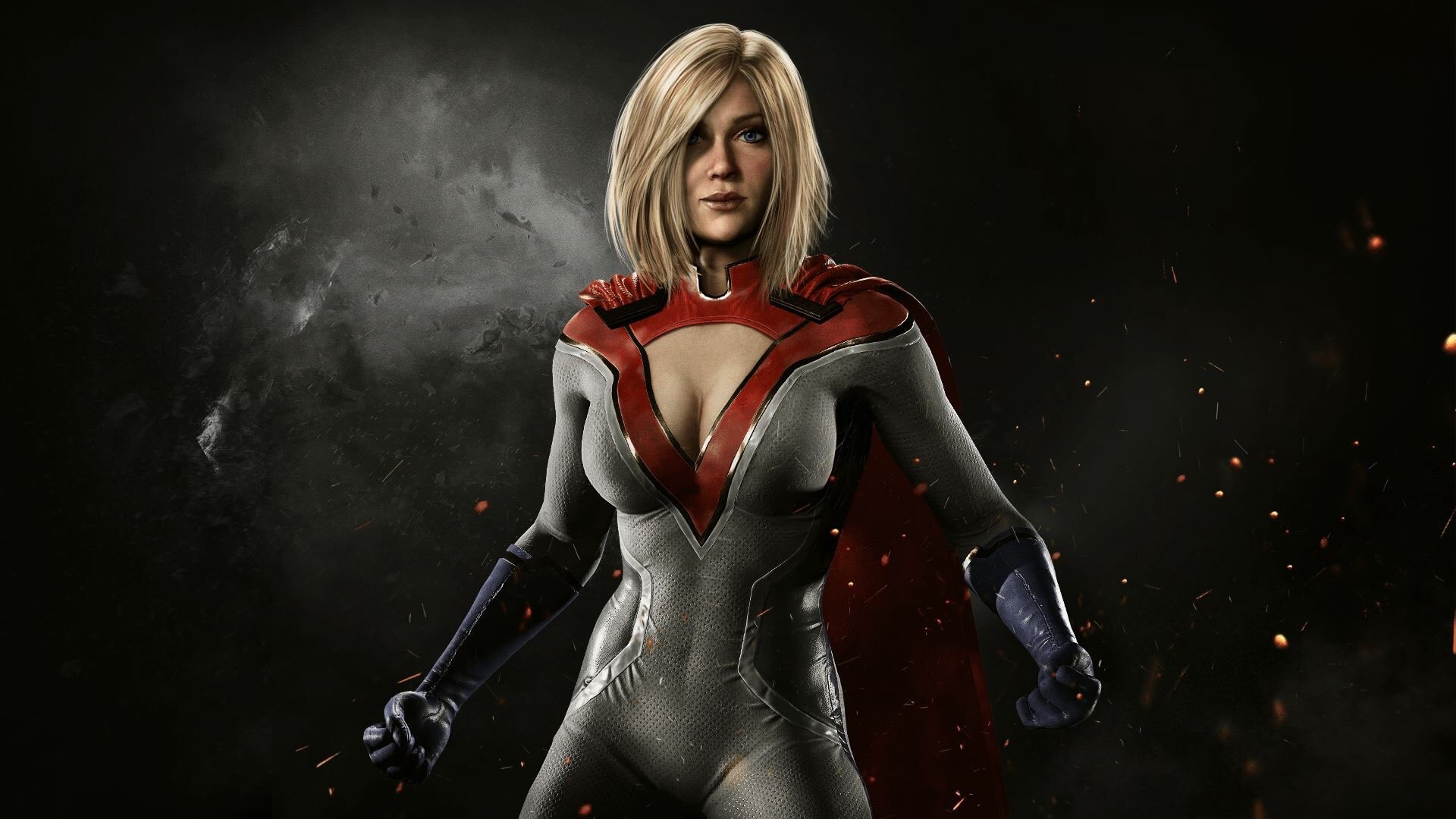 awesome Power Girl Injustice 2 Game 1920×1080