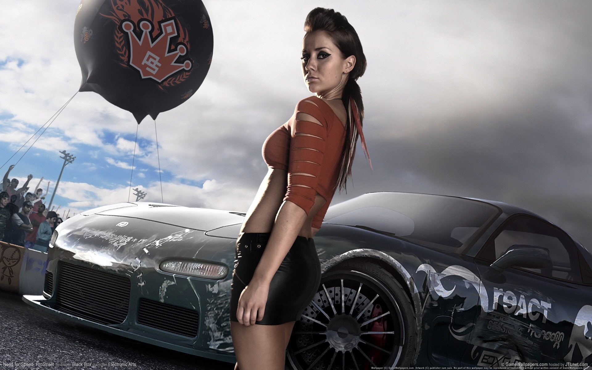 race game girl