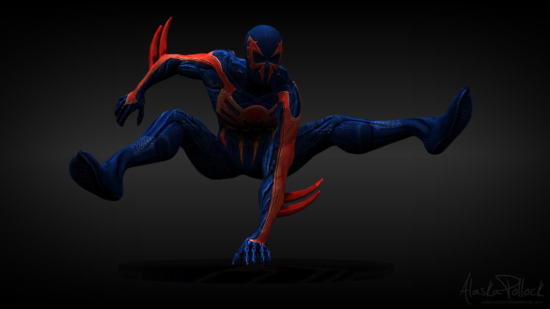 … Spider-Man 2099 by Alaska-Pollock