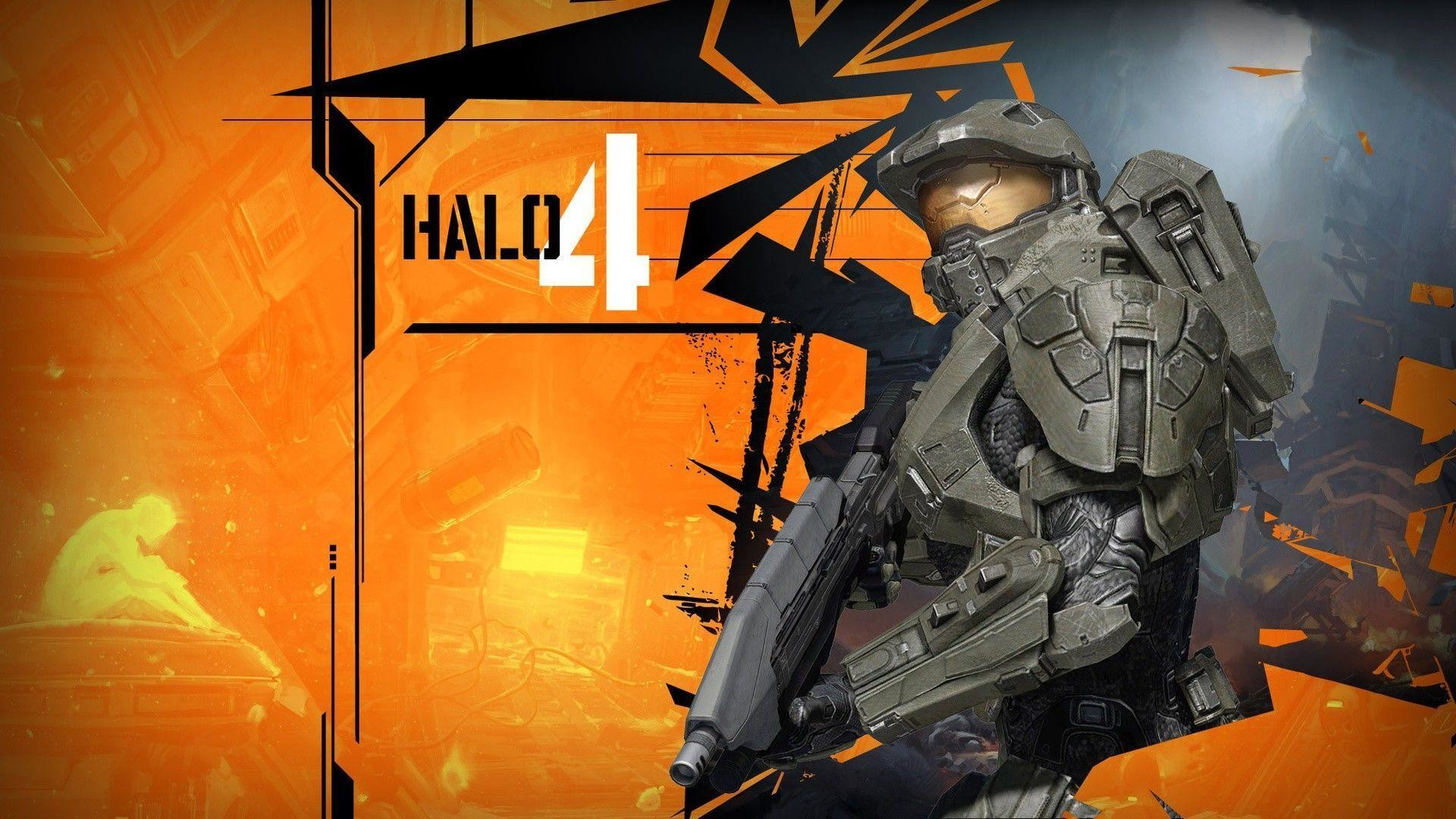 Images For > Halo 4 Master Chief Wallpaper 1080p