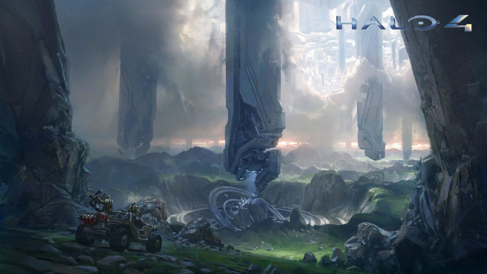 Halo 4 Game Cover Wallpaper