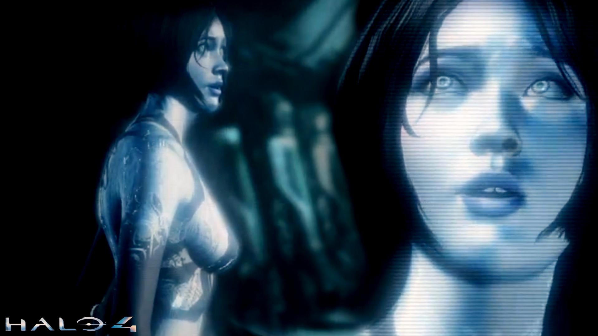 Halo 4 Cortana Wallpaper