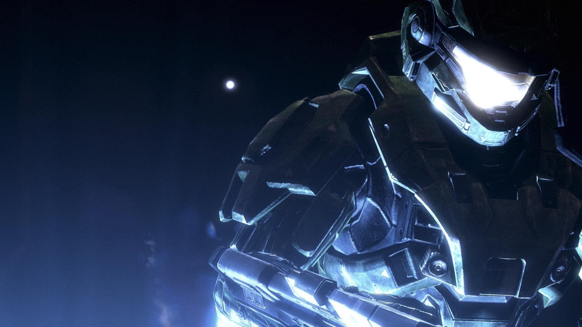 Video games futuristic Halo Master Chief wallpaper