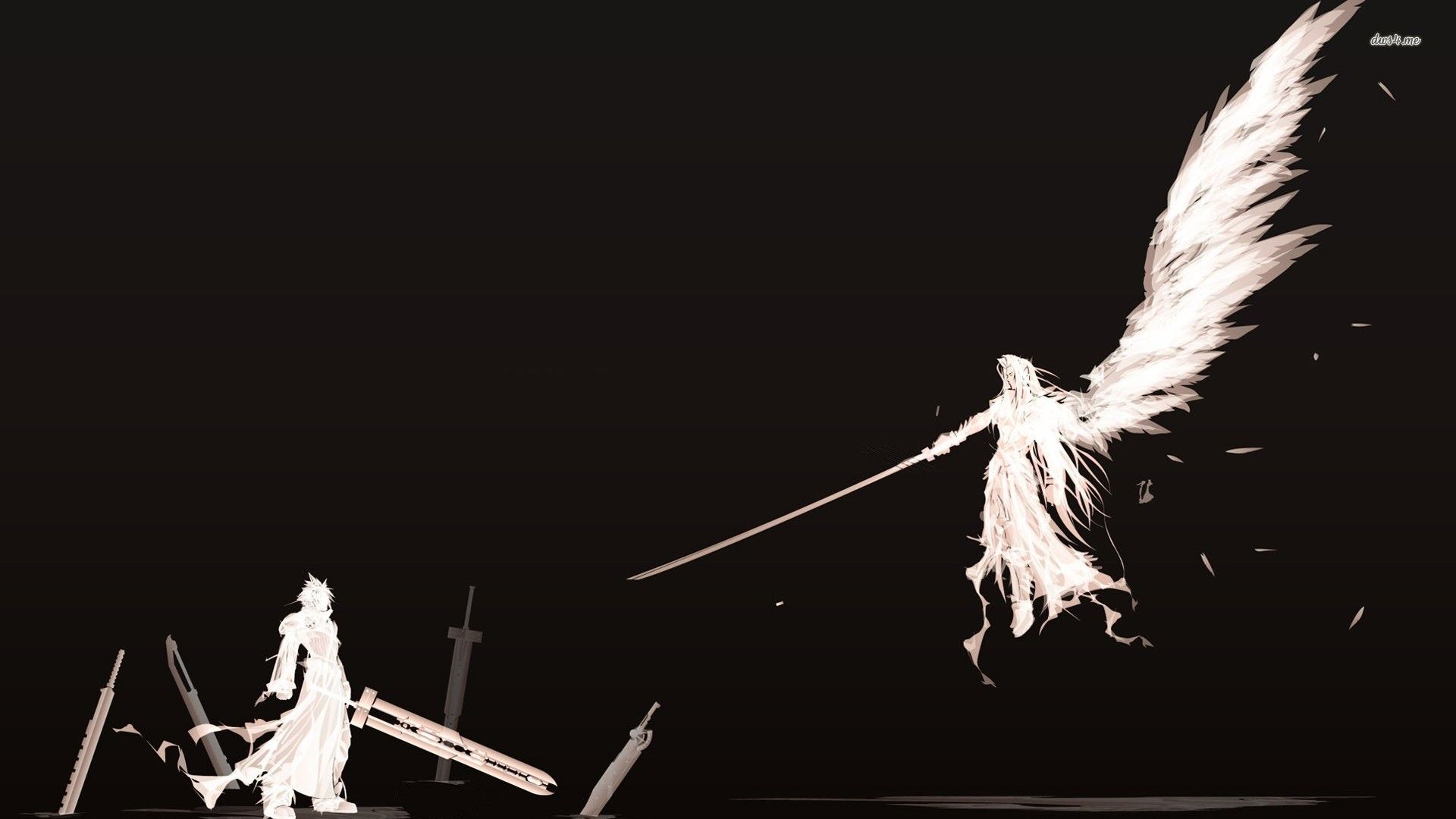 Cloud and Sephiroth, HD Quality Images, Jelle Kenson