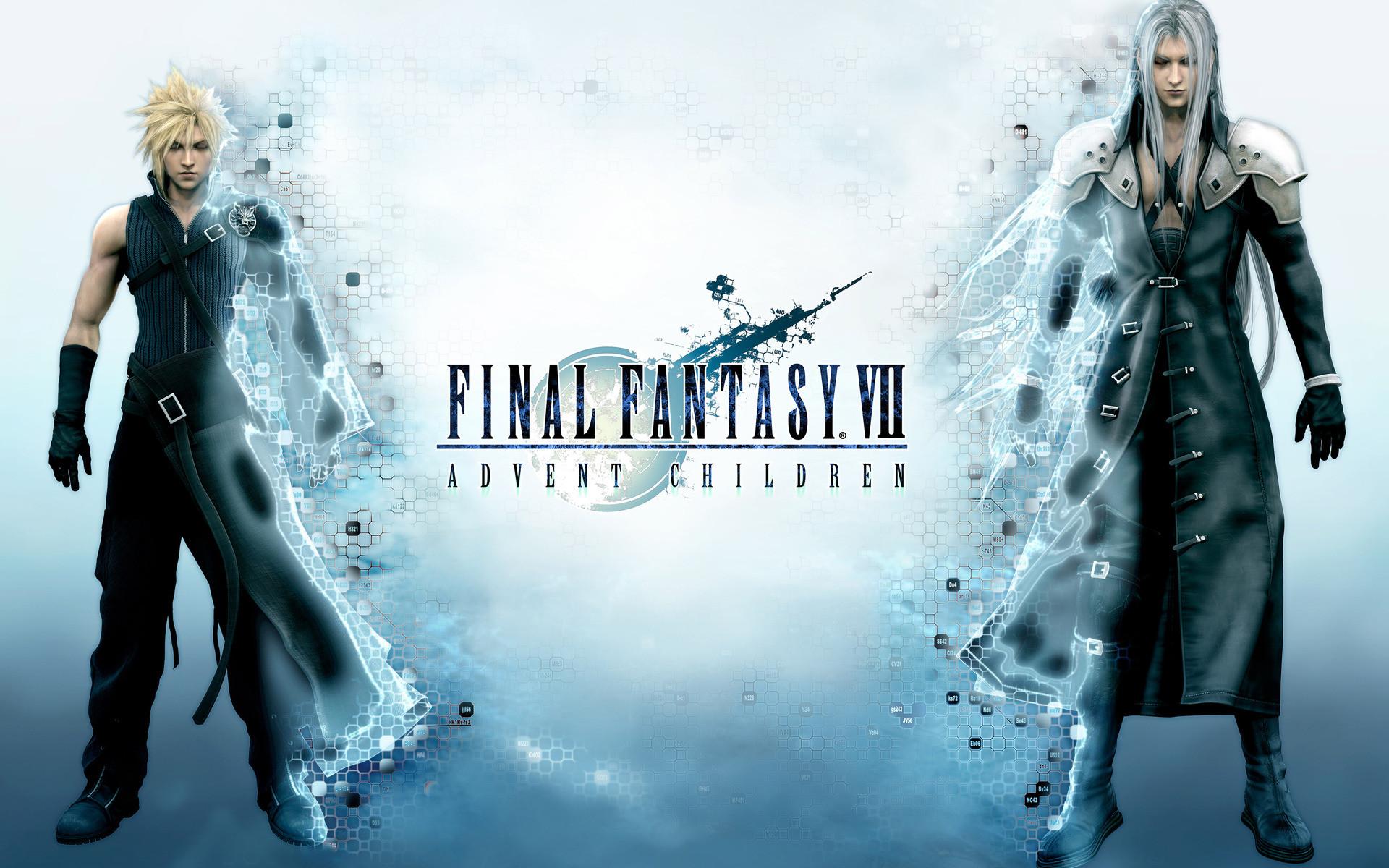 … Strife and Sephiroth – Final Fantasy VII HD Wallpaper Cloud  …