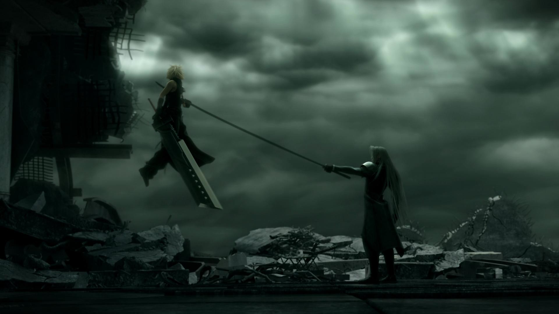 Cloud-and-Sephiroth-from-FF-Advent-Children-wallpaper-
