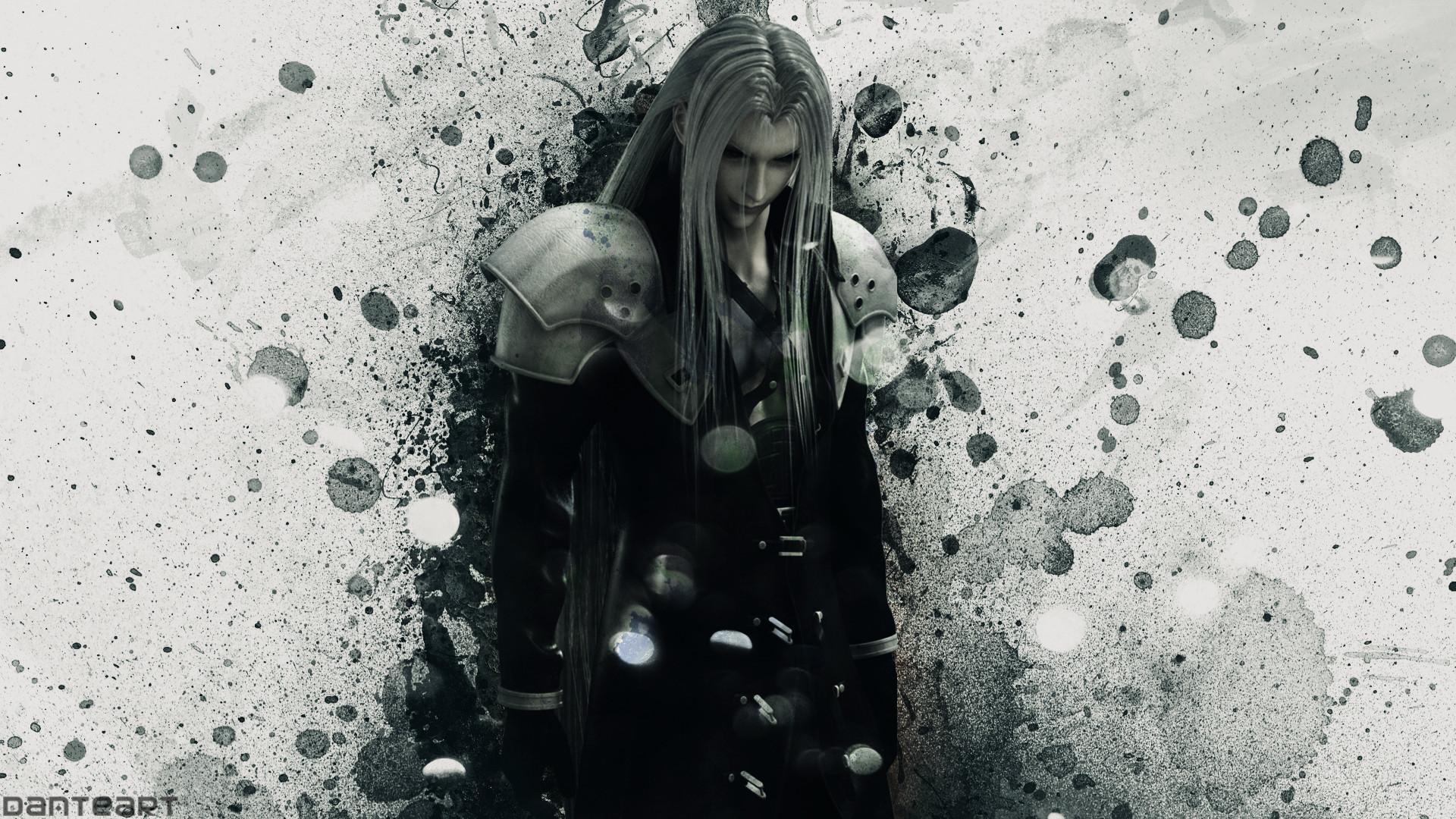 … DanteArtWallpapers Crisis Core Final Fantasy VII Sephiroth Wallpaper by  DanteArtWallpapers