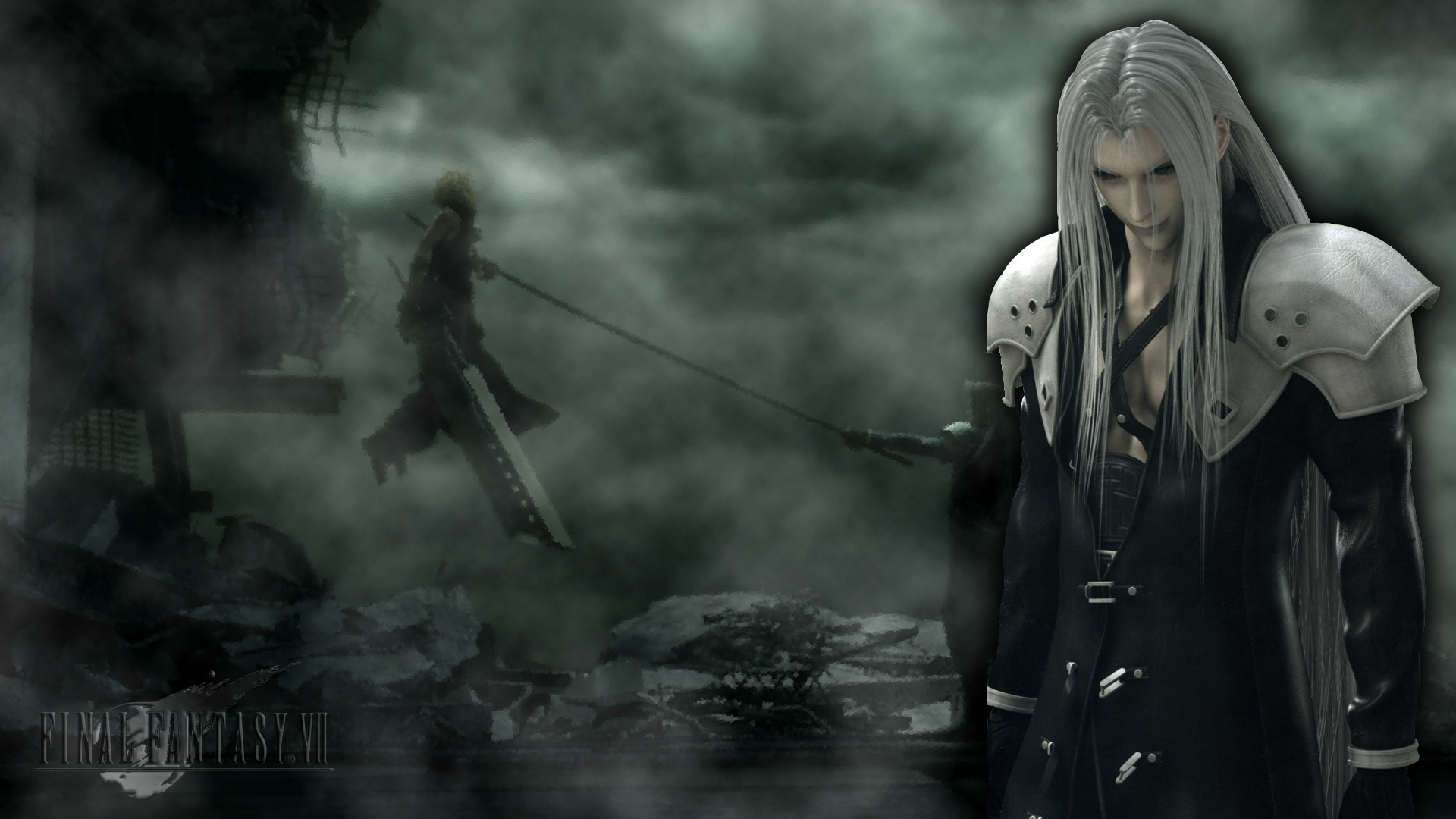Sephiroth Wallpaper by NightmaresCalling on DeviantArt