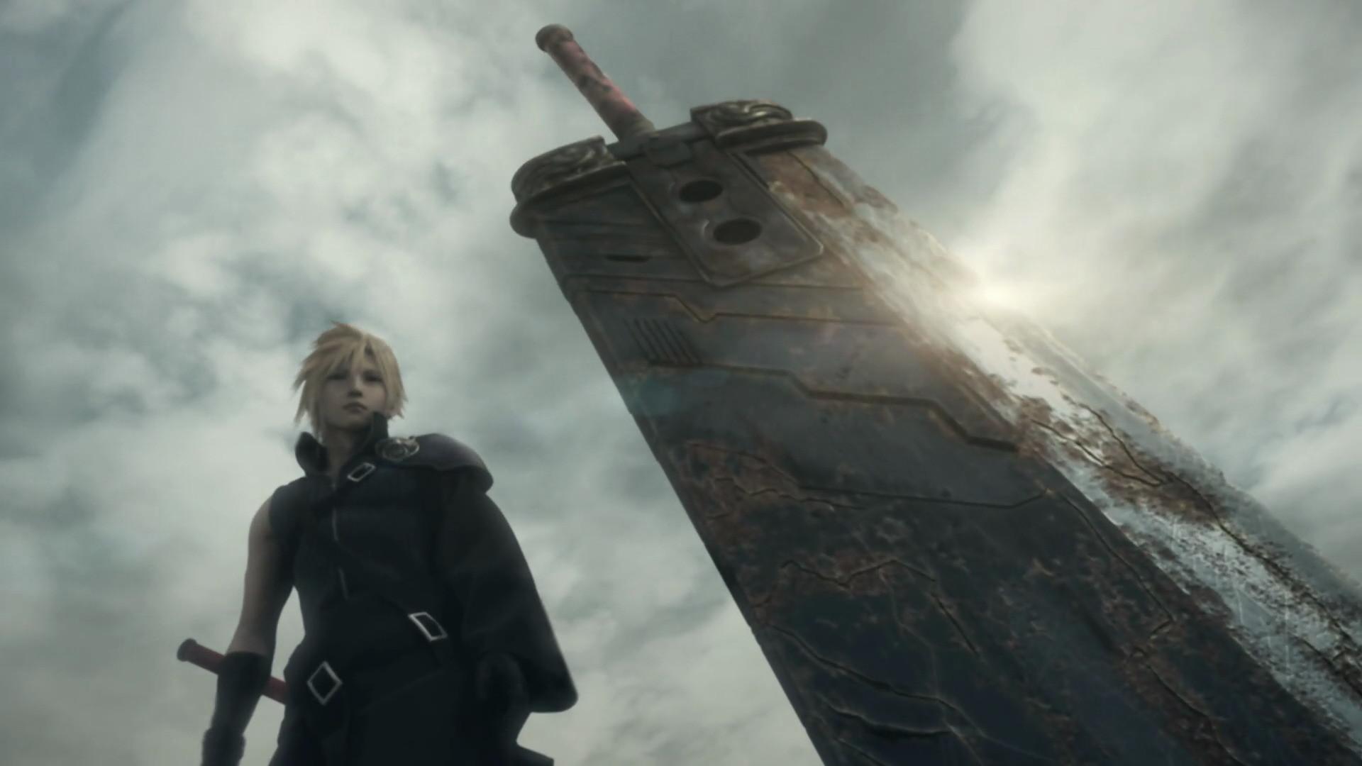 Blade Cloud Strife Final Fantasy VII Advent Children Weapons …