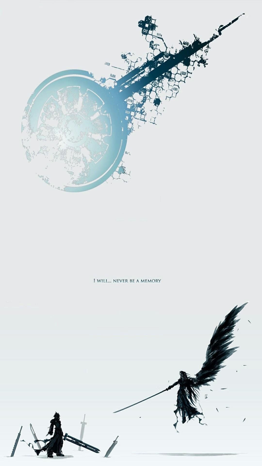 Final Fantasy VII Lockscreen Wallpaper
