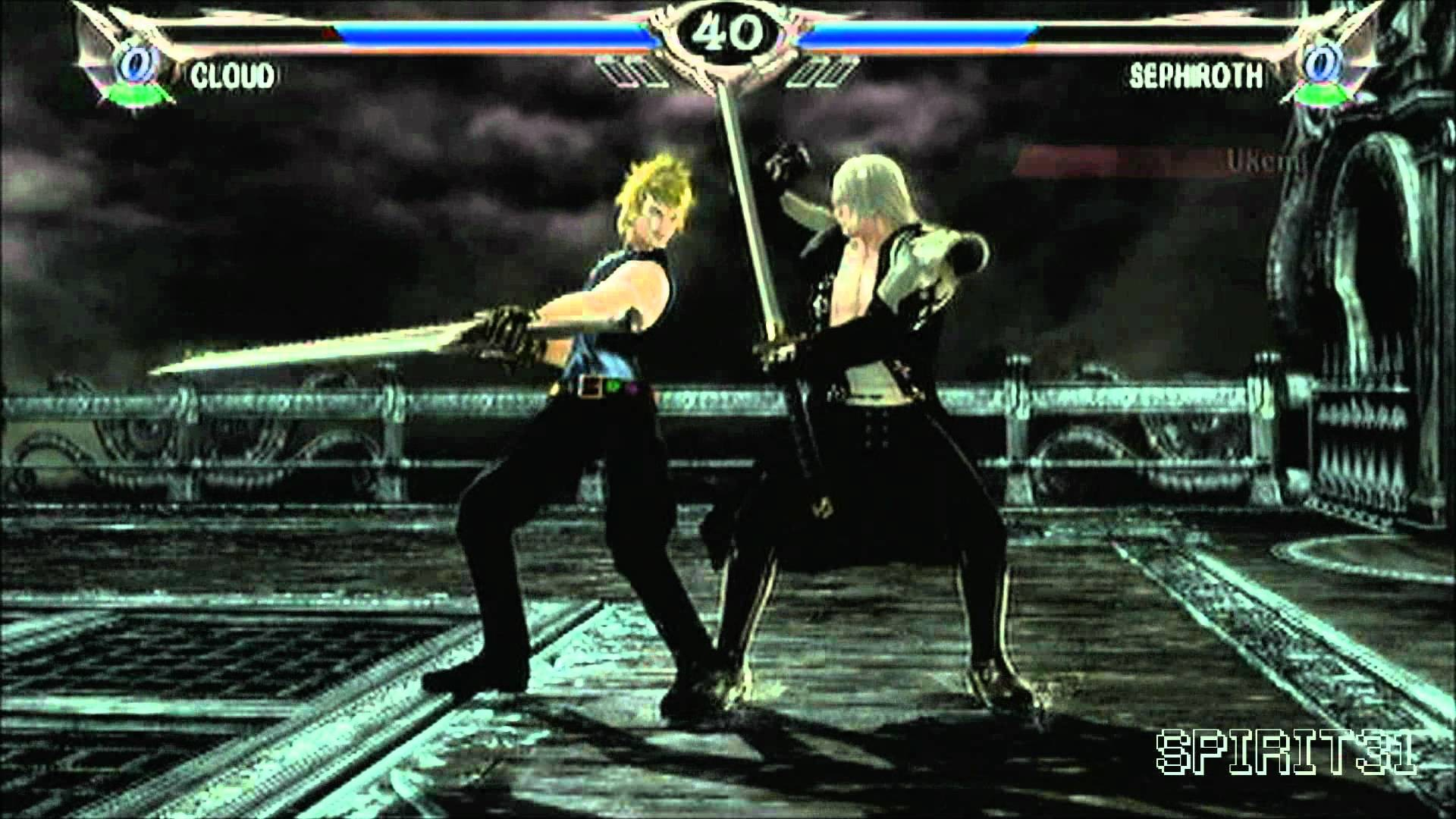Soul Calibur V – Cloud vs Sephiroth [HD]