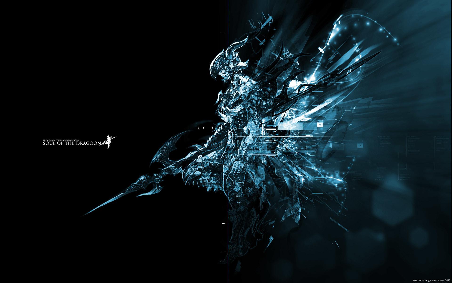 Soul of the Dragoon  https://firestream.net/2013/desktops/ffxiv_dragoon1920b.jpg   Final Fantasy    Pinterest   Final fantasy, Final fantasy art and Dragons