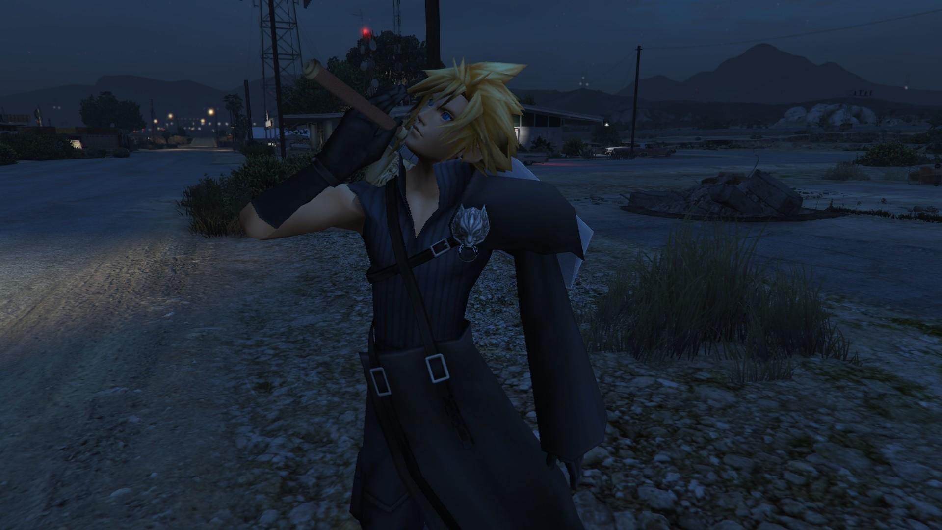 Cloud Strife and Sephiroth (Final Fantasy VII)