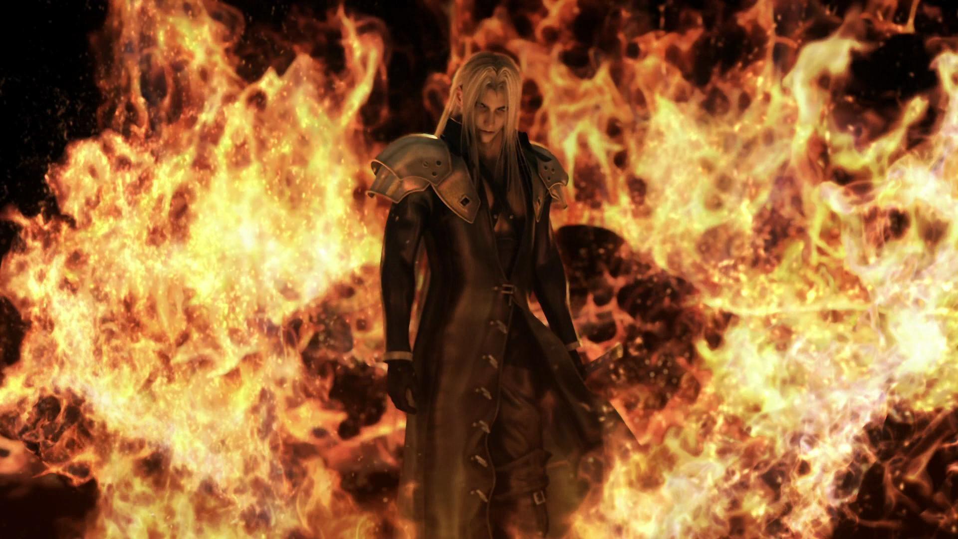 Wallpapers For > Final Fantasy Sephiroth Wallpaper