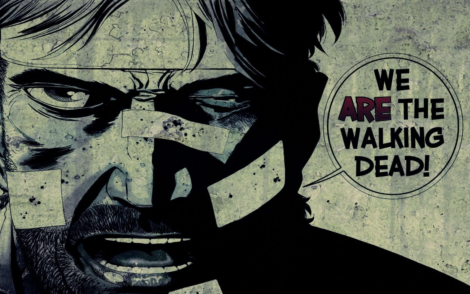 Walking Dead Comic We Are The Walking Dead Wallpaper