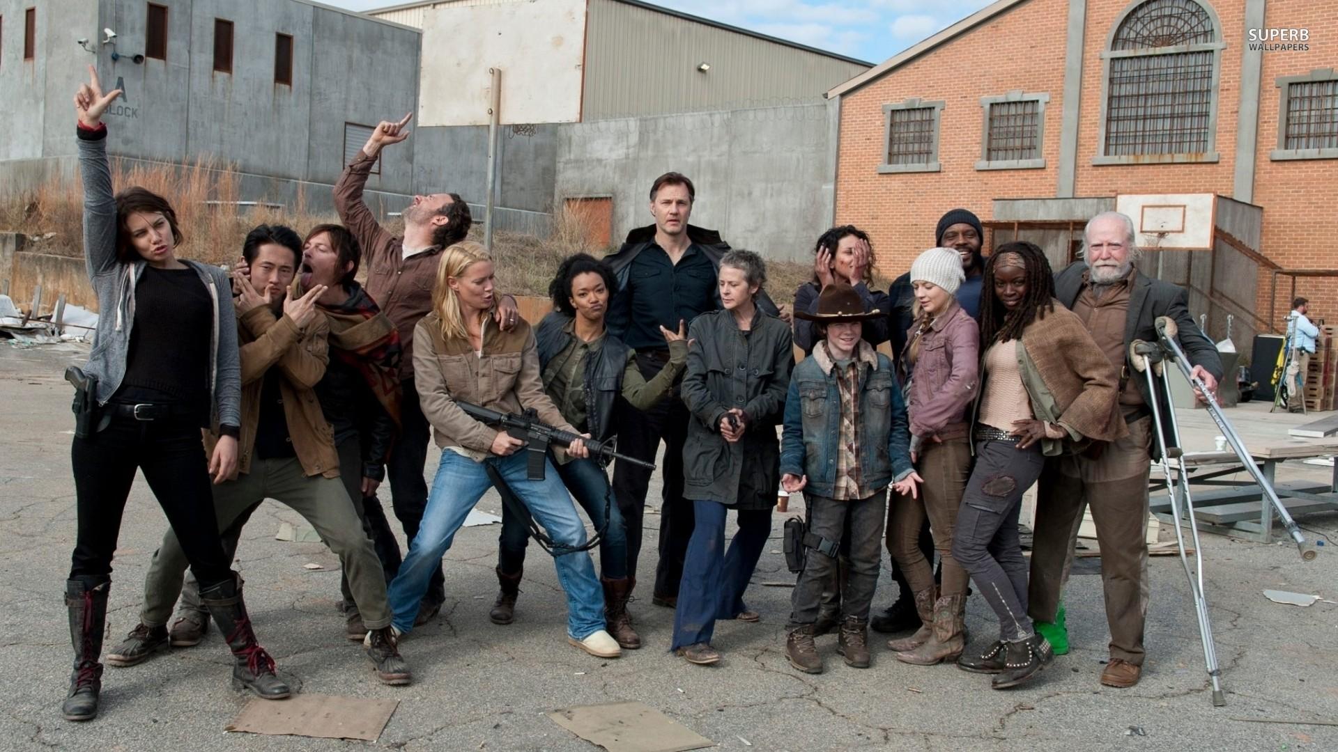 walking dead season 3 cast