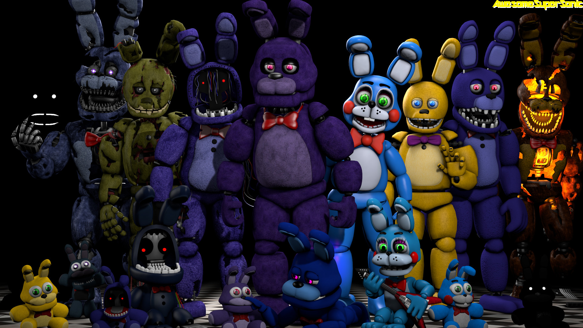 … FNaF] Bunnies by AwesomeSuperSonic