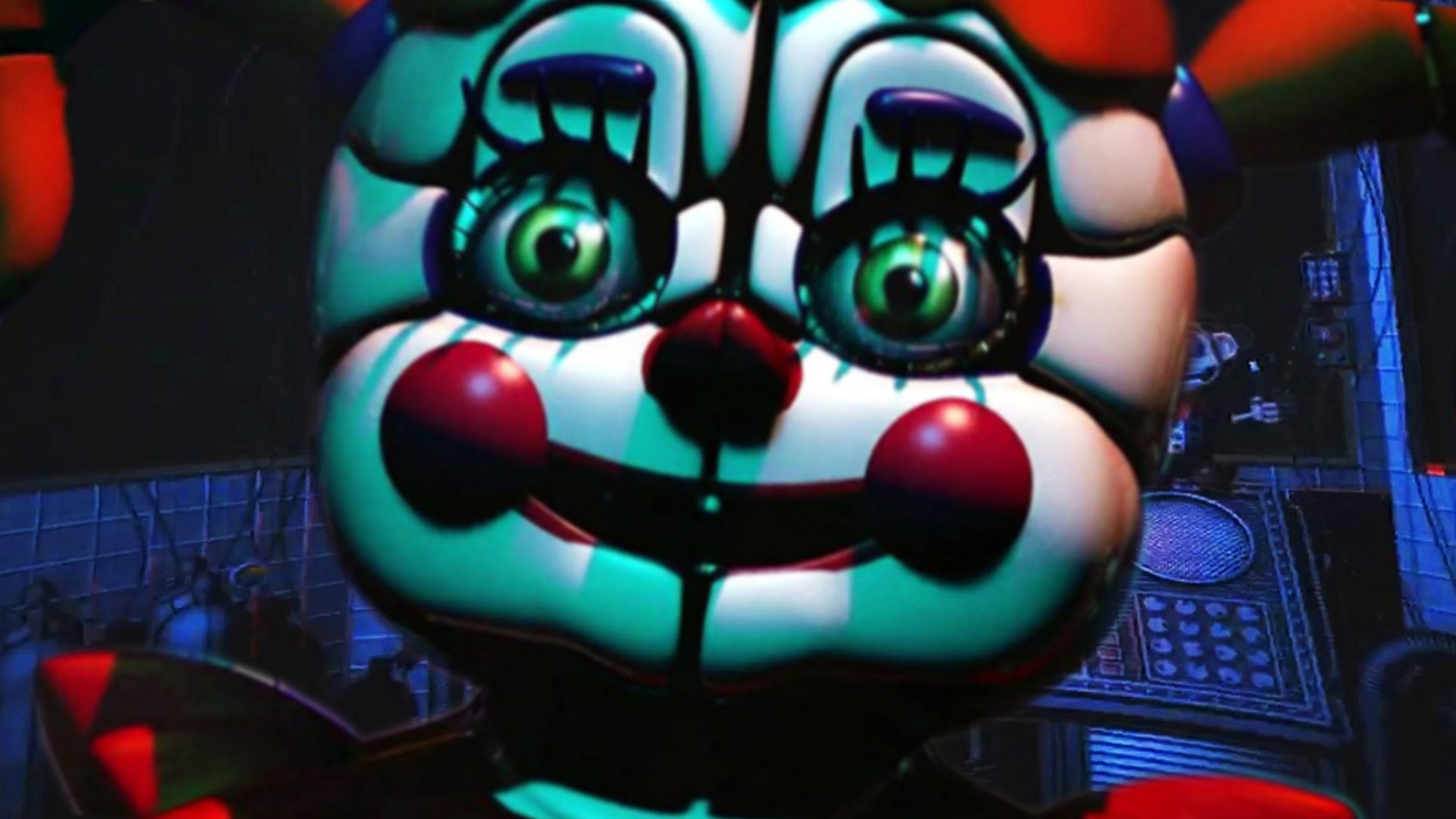 Five Nights at Freddy's Sister Location GAMEPLAY (Animatronics, and Nights)  (FNAF Sister Location) – YouTube
