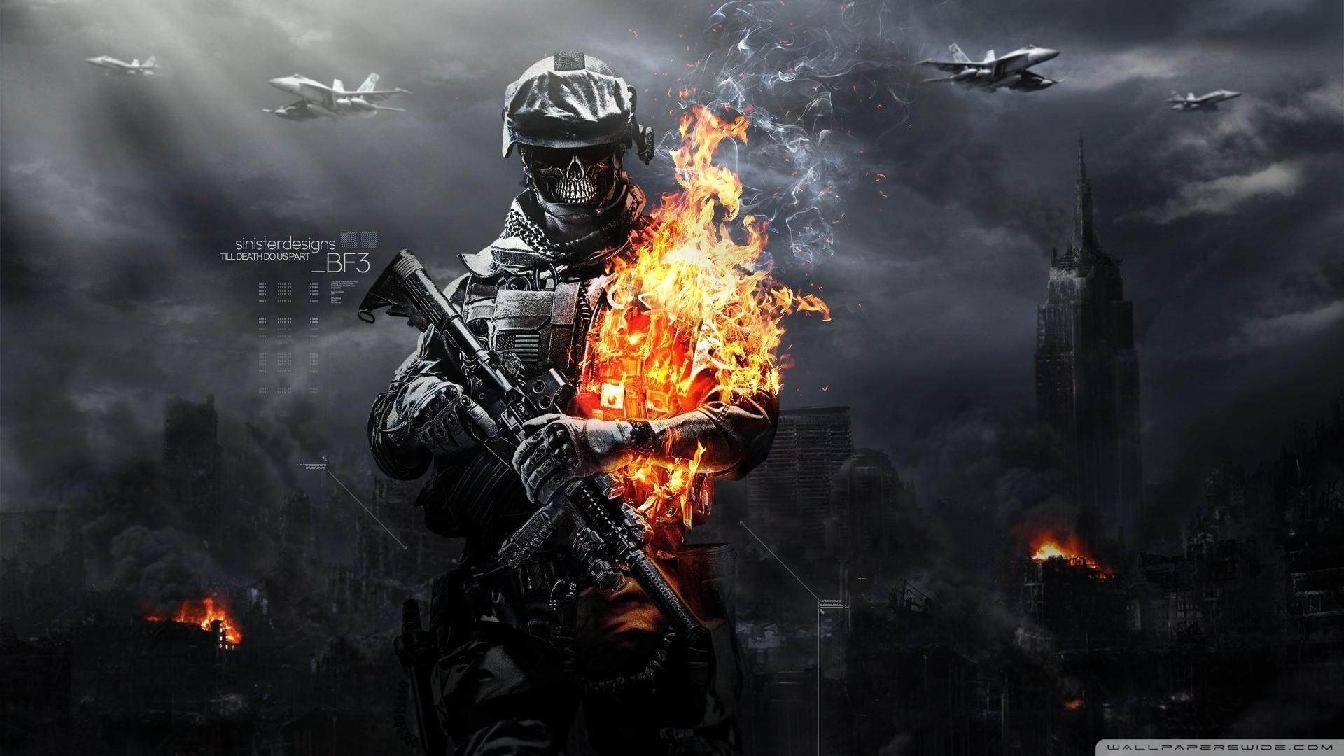 Battlefield 3 Zombies Wallpaper Battlefield, 3, Zombies