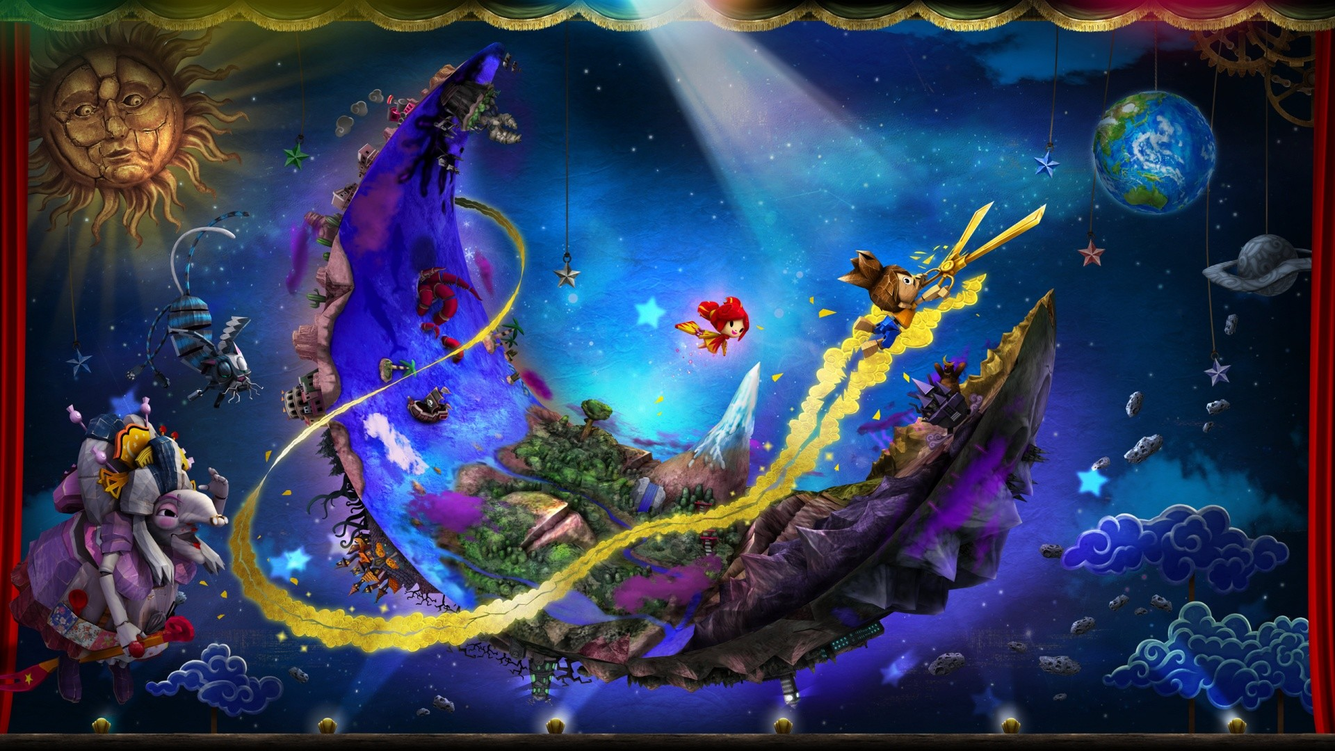 Puppeteer PS3 Game Wallpapers   HD Wallpapers