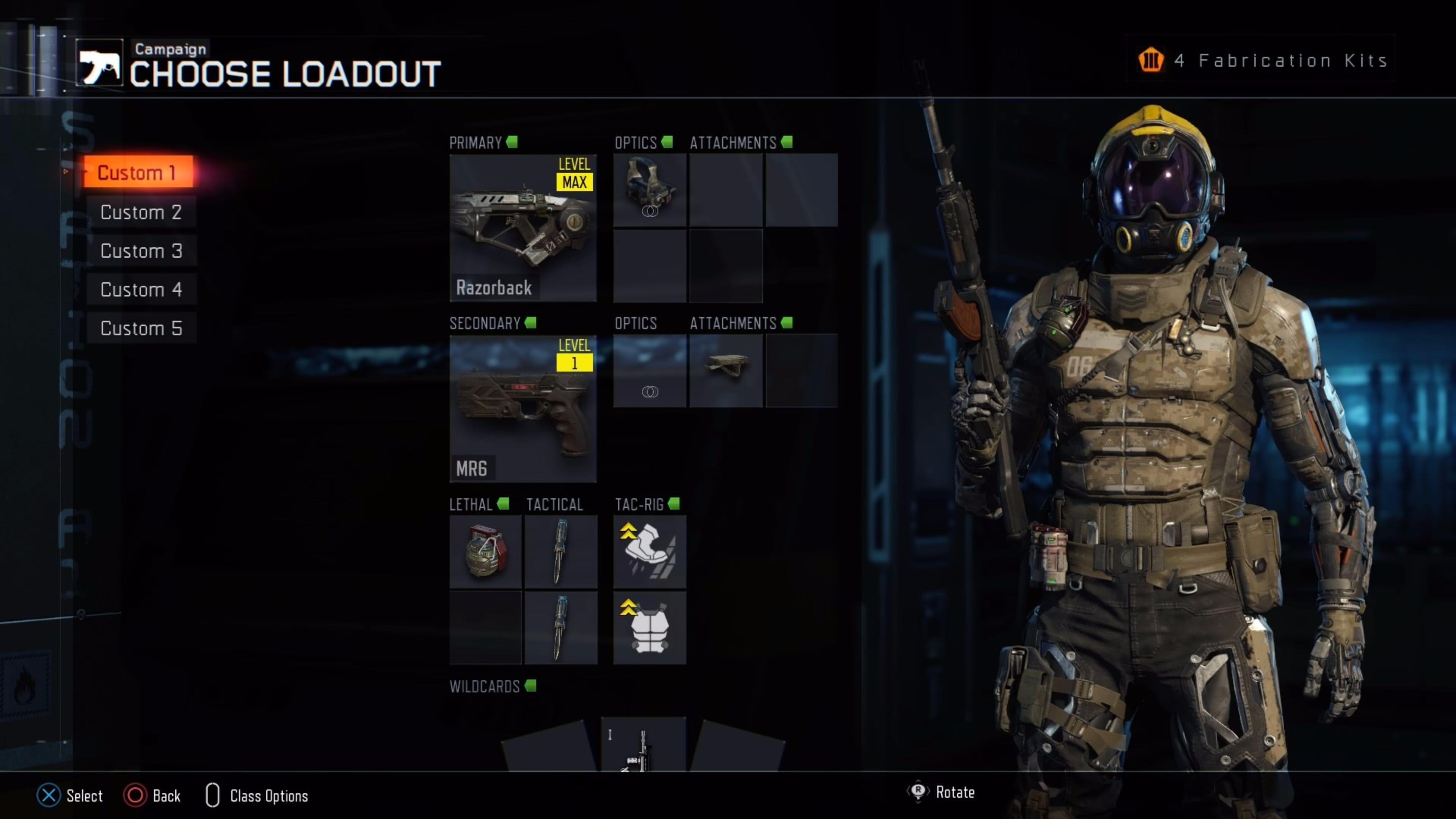 Loadout 2016 Call of Duty Black Ops 3 4K Wallpaper