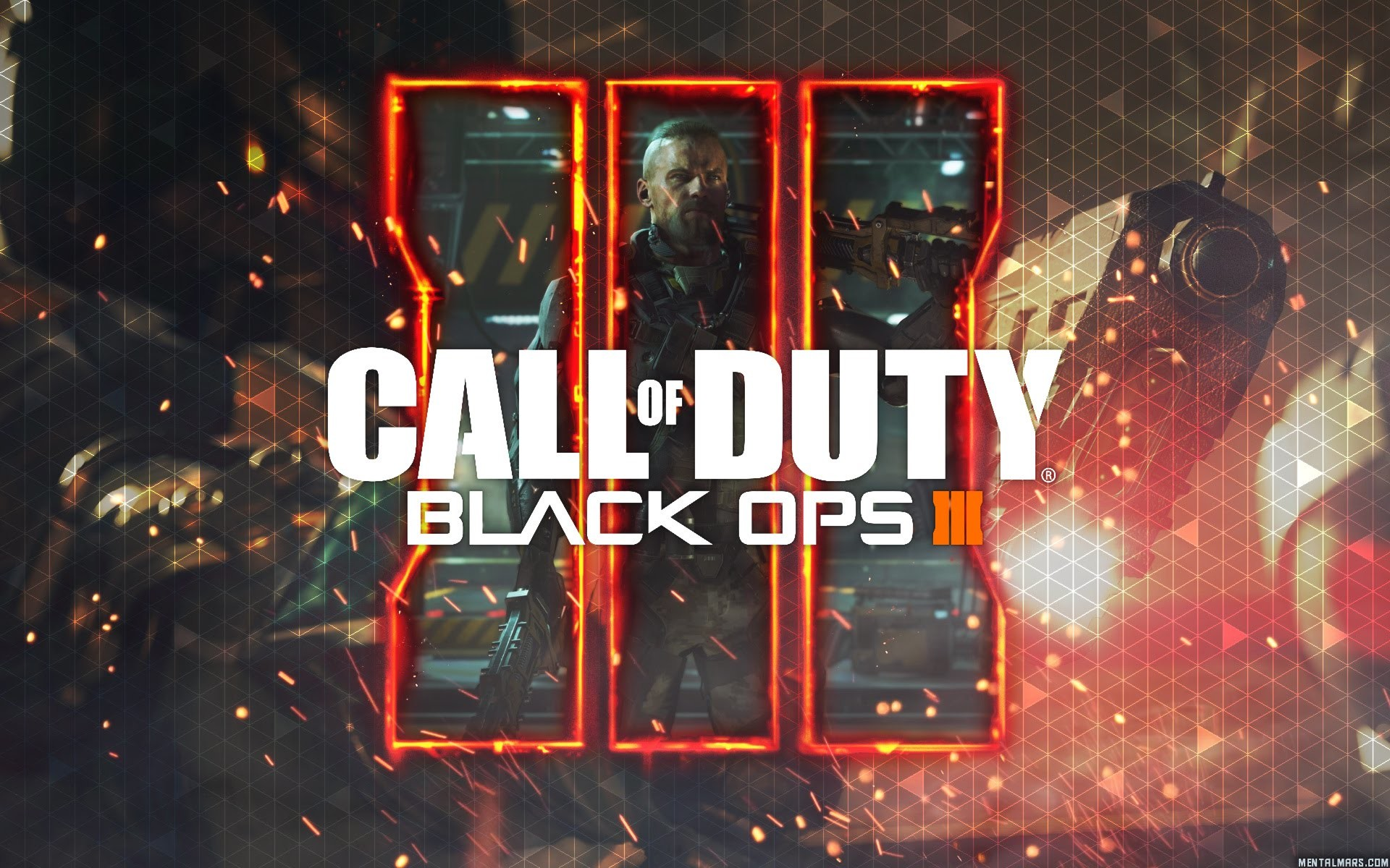 2016 Call Of Duty Black Ops 3 HD 2048×1152 Resolution