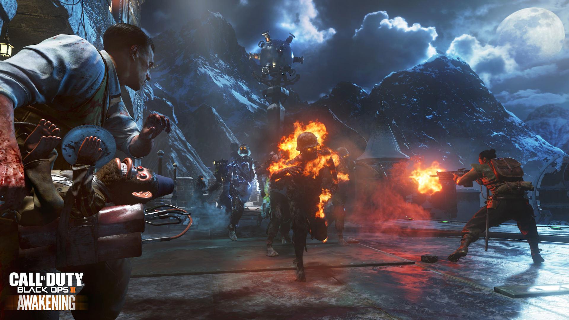 (6) New official screenshots for Black Ops 3 Awakening DLC .
