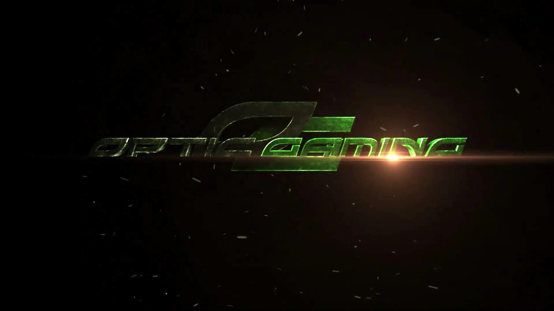 Game Wallpaper: Optic Gaming Green Wall Desktop Wallpaper For HD .