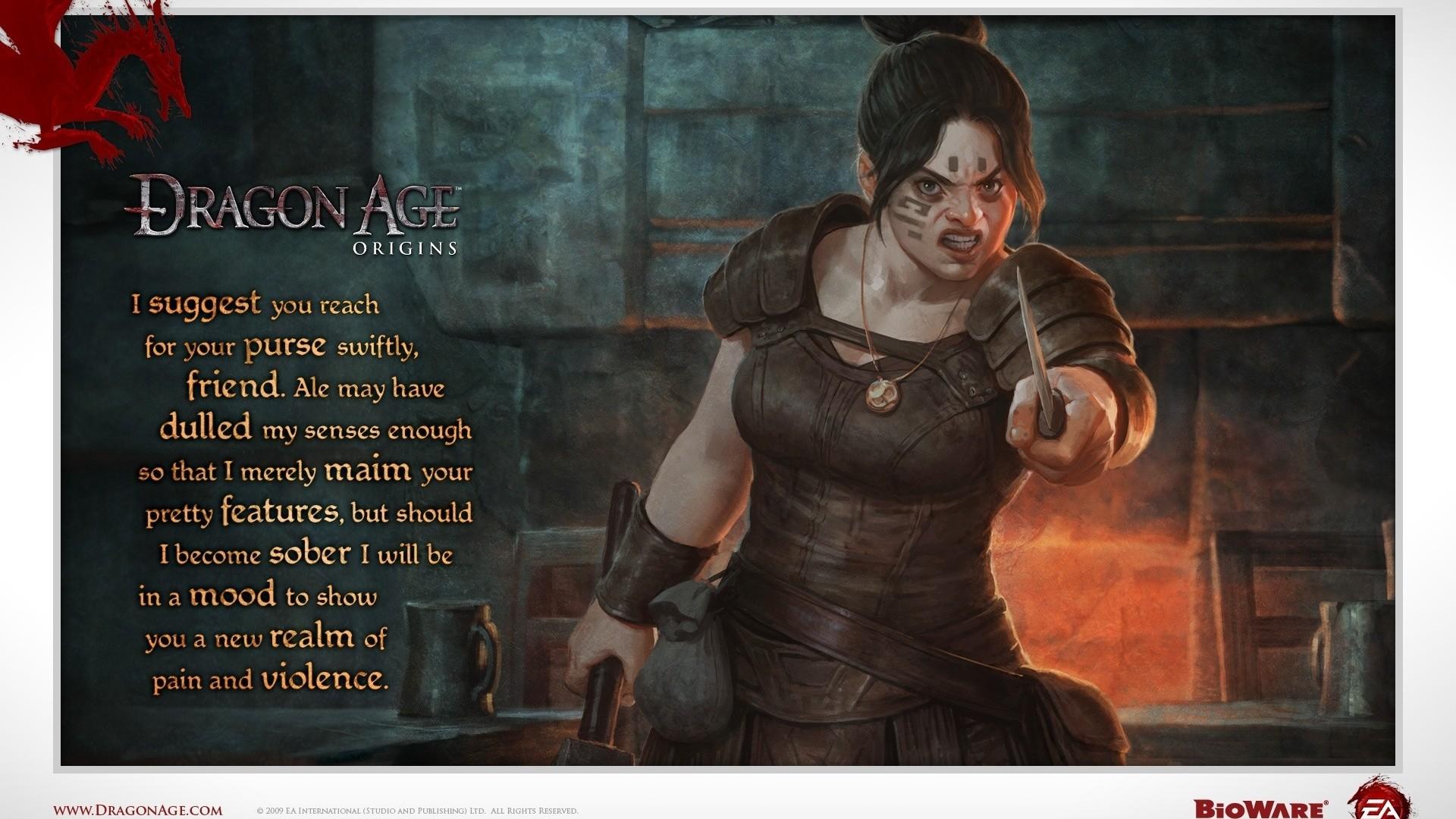 Dragon Age: Origins Dwarf