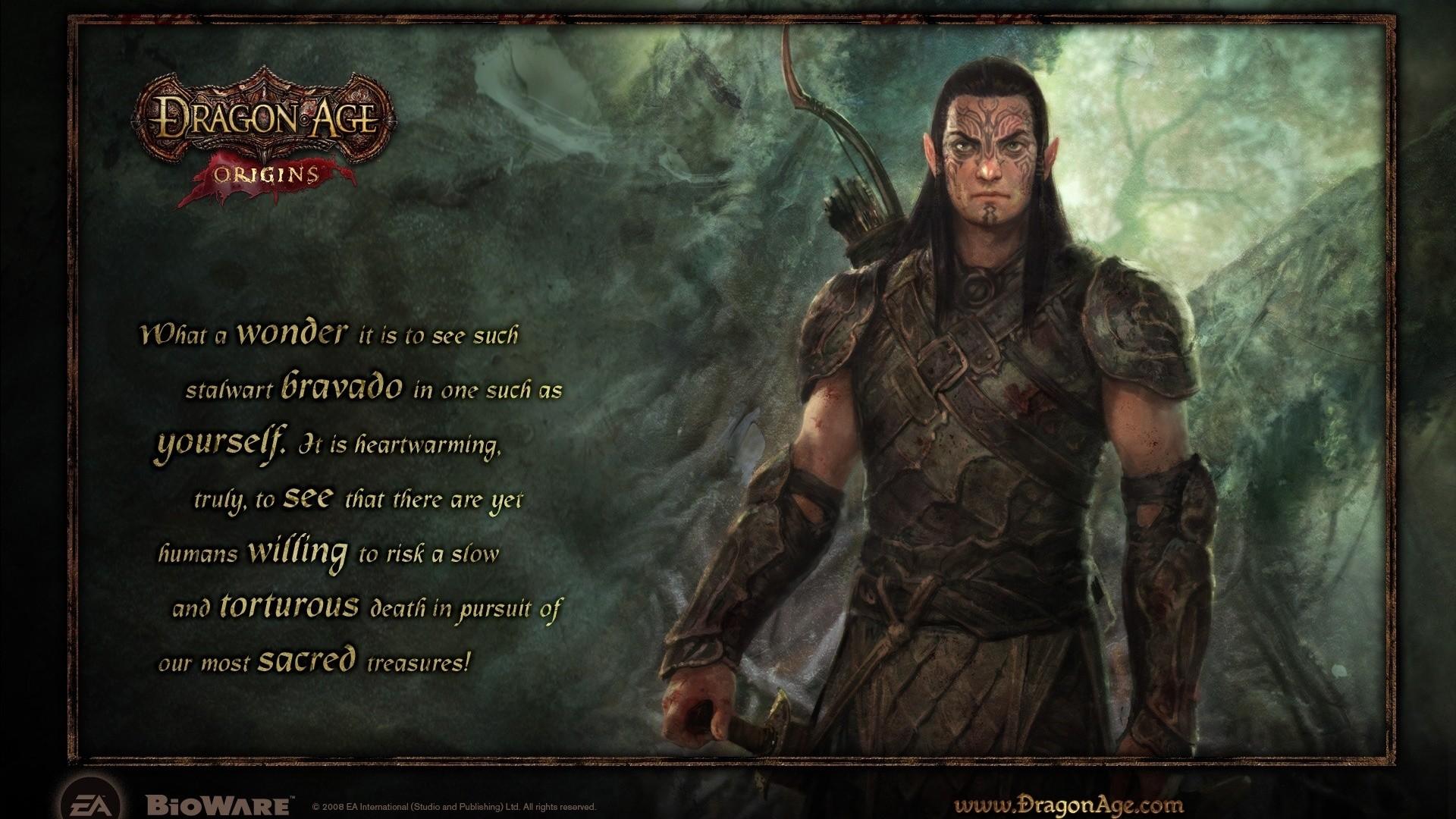 Dragon Age: Origins Elf